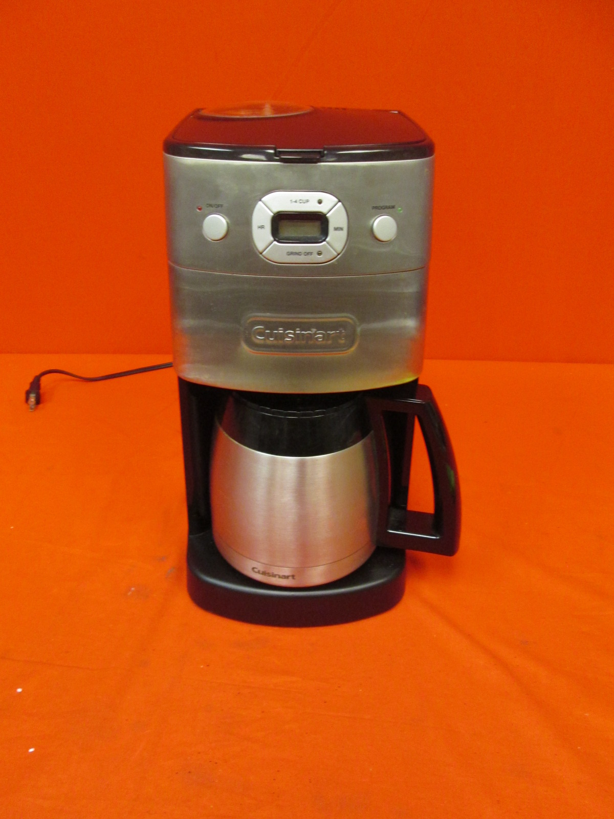 Cuisinart DGB-650BC Grind-And-Brew Thermal 10-CUP