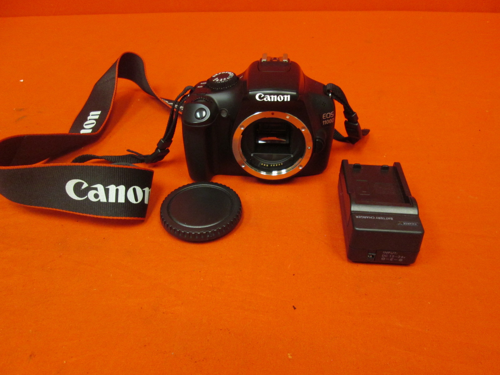 Canon EOS 1100D Grey Digital SLR Camera W/ Ef-S 18-55MM F/3.5-5.6 Is