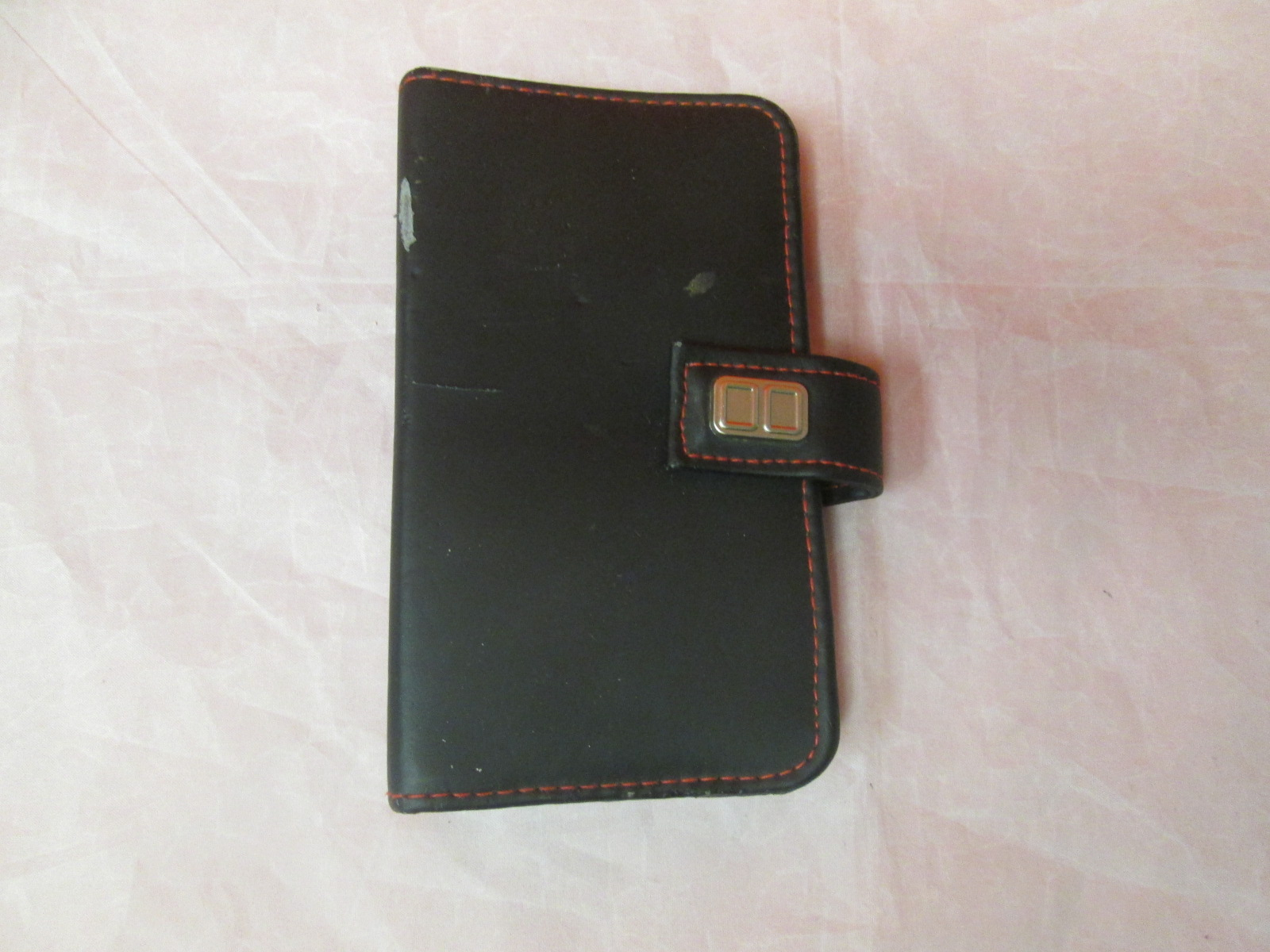 Black Leather Case For Nintendo DS Handheld Console