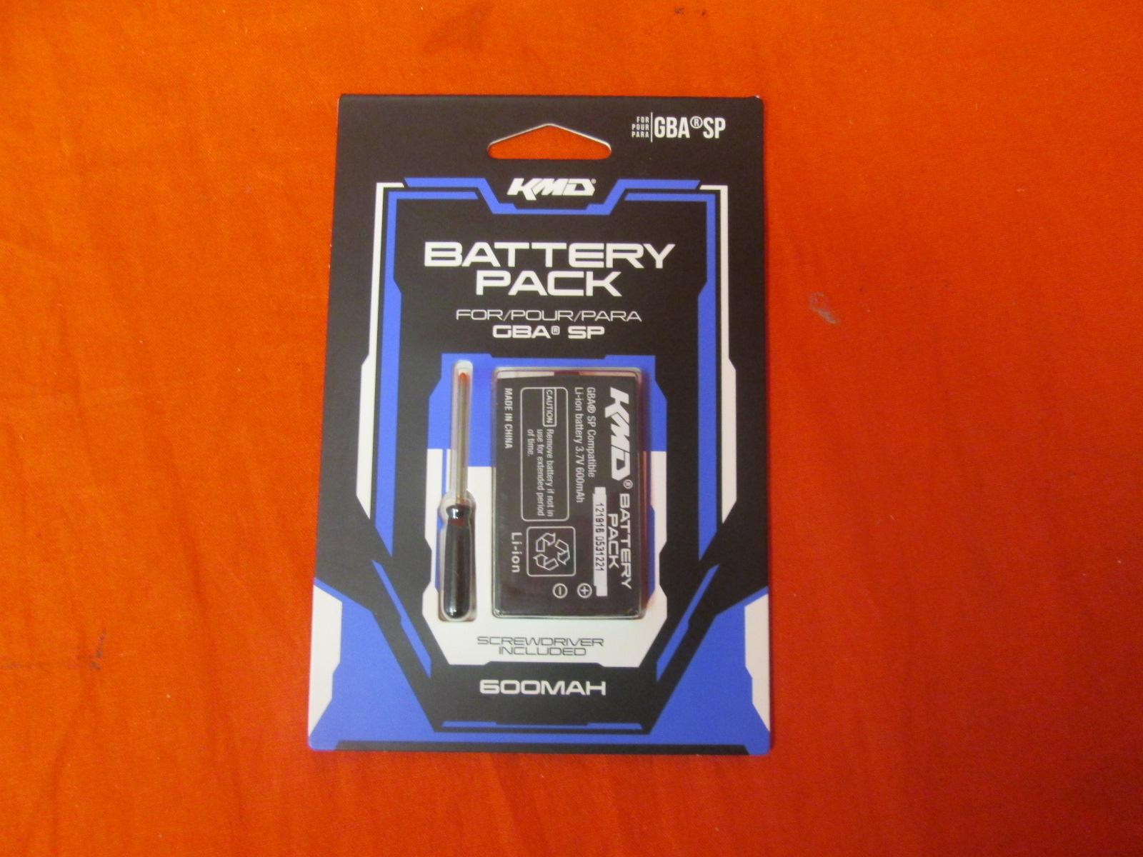 KMD 3000MAH Rechargeable Battery Pack For Nintendo Wii U Internal