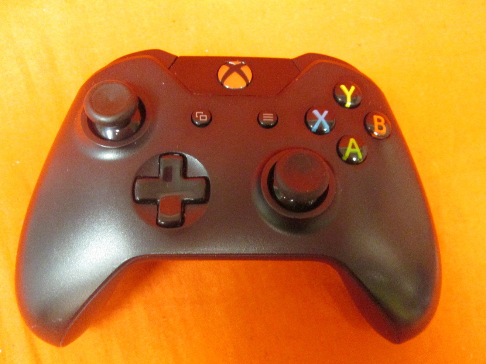 Broken Xbox Wireless Controller Black With Headphone Jack For Xbox One