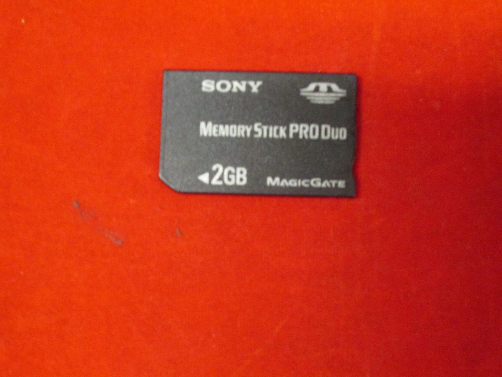 Sony 2 GB Memory Stick Pro Duo Memory Card MSX-M2GS