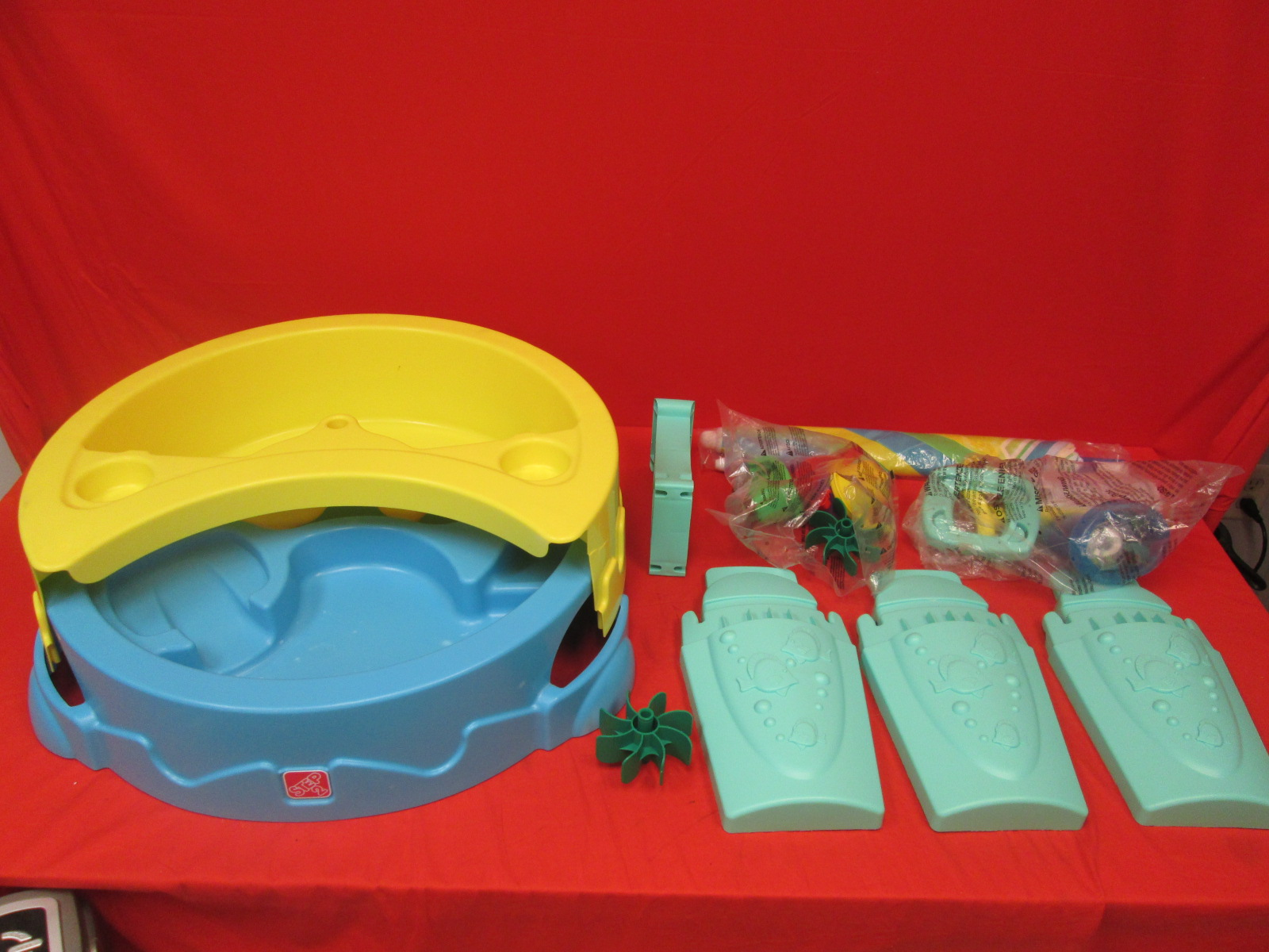 Step 2 Shady Oasis Sand And Water Play Table Toy Incomplete