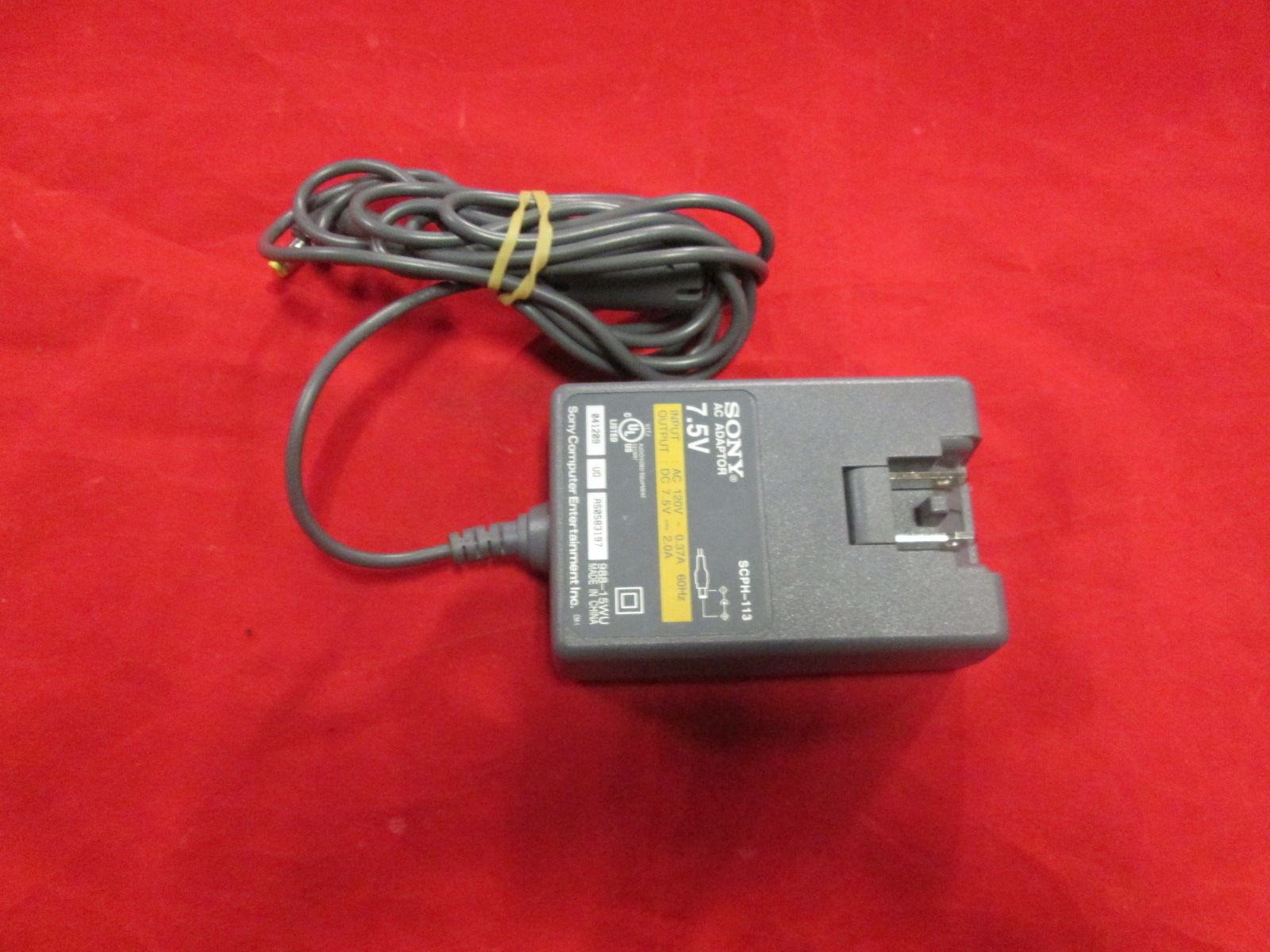 Sony OEM AC Adaptor 7.5V 2.0A SCPH-113 Adapter PlayStation Ps One