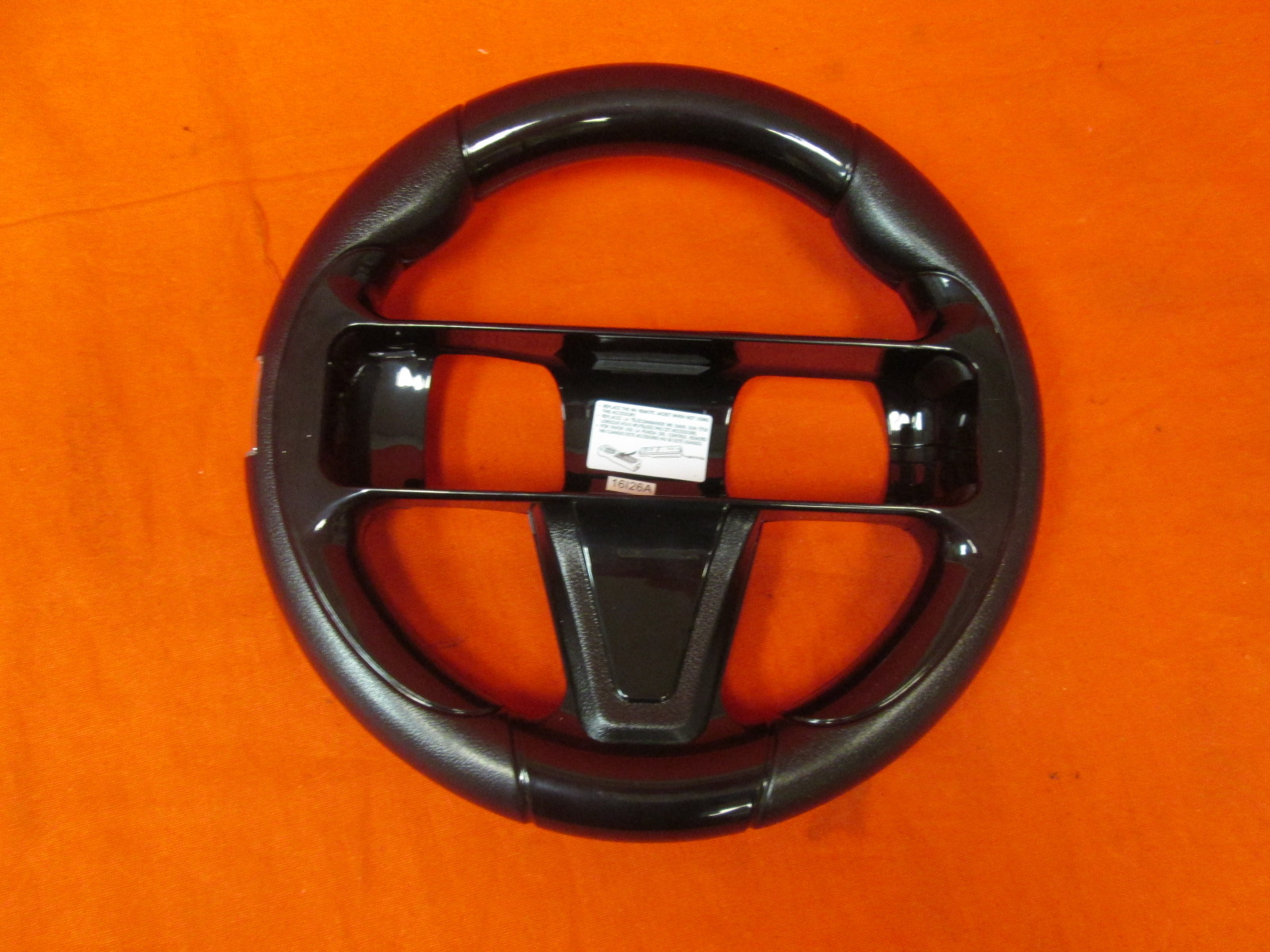 Insignia Wii U Steering Wheel Black Only For GameCube