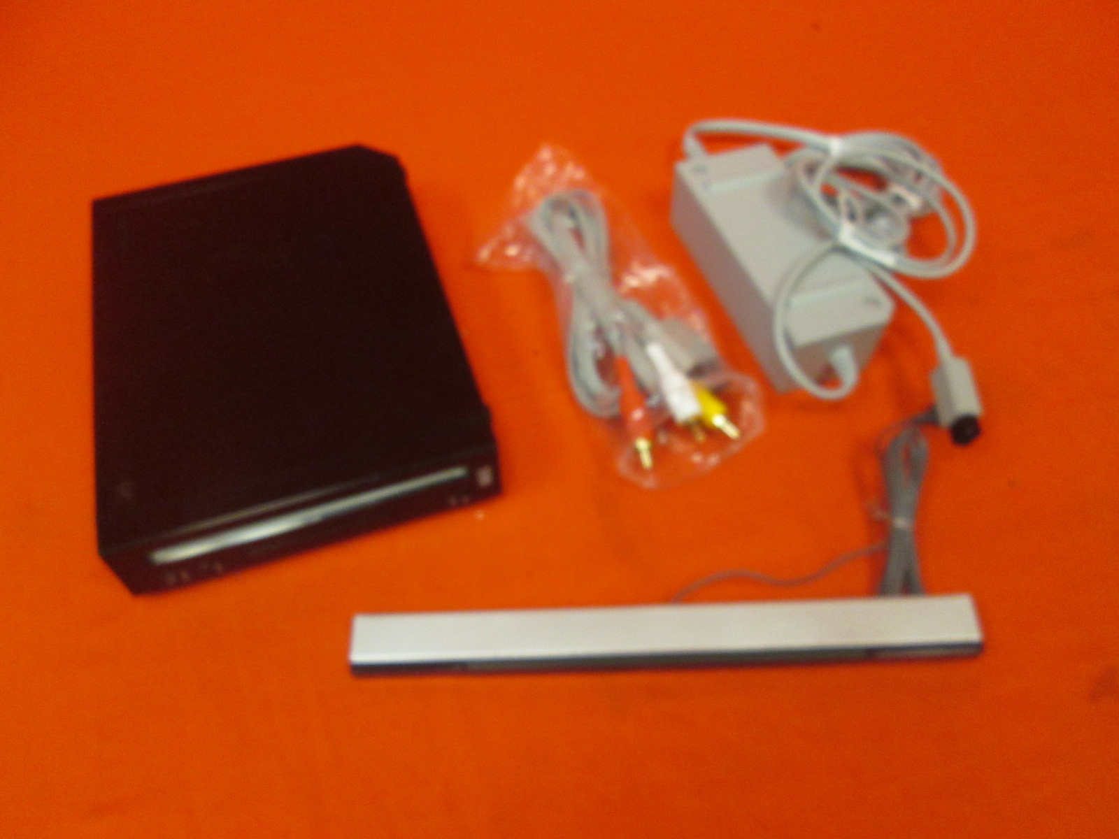 Nintendo Wii Video Game Console Black