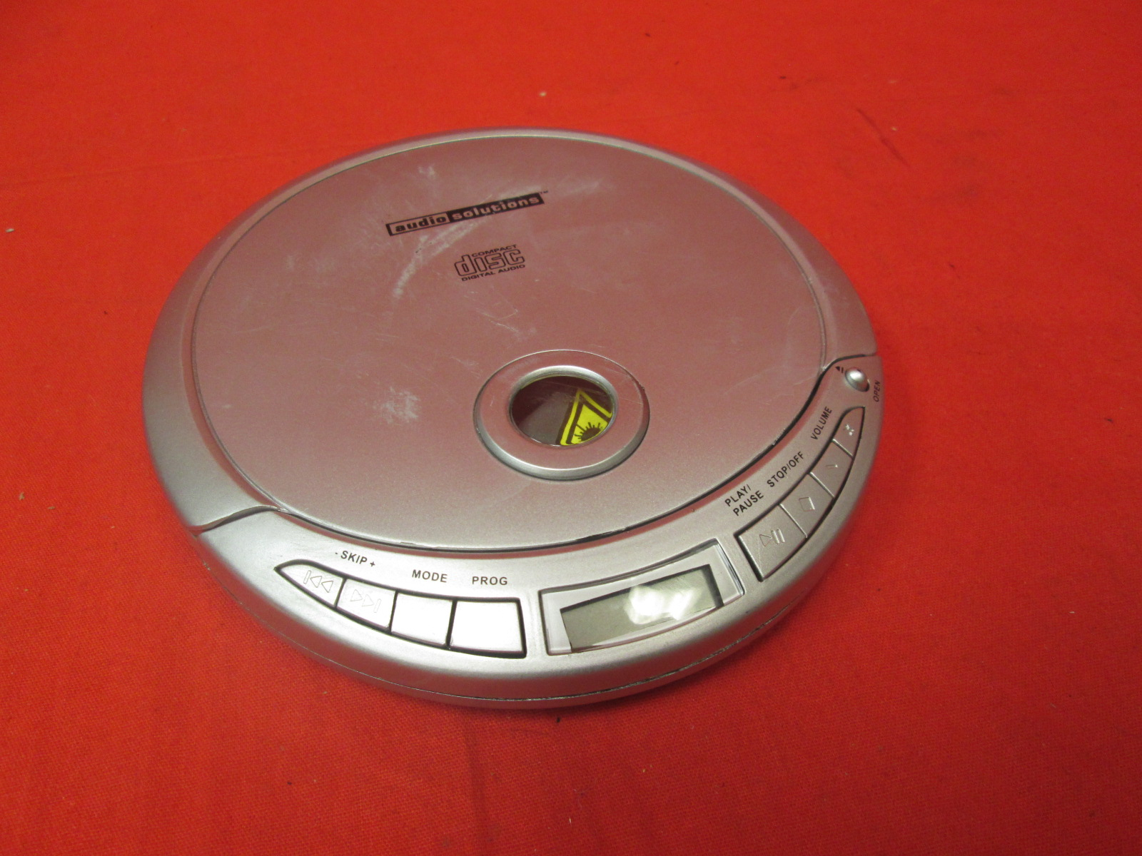 Audio Solutions Personal Portable CD Player ATC-2630