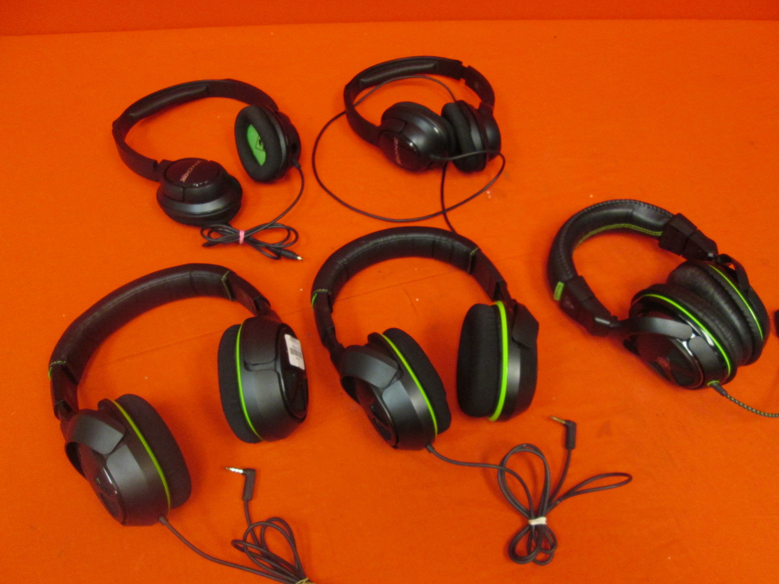Broken Lot Of 5 Turtle Beach Gaming Headsets XO One XO Four