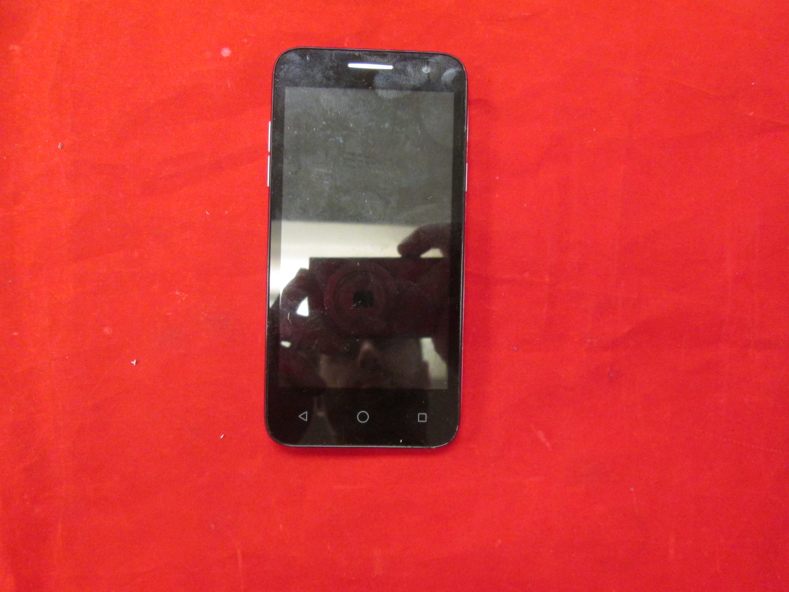 Alcatel Onetouch Elevate Black Mobile Cell Phone Broken