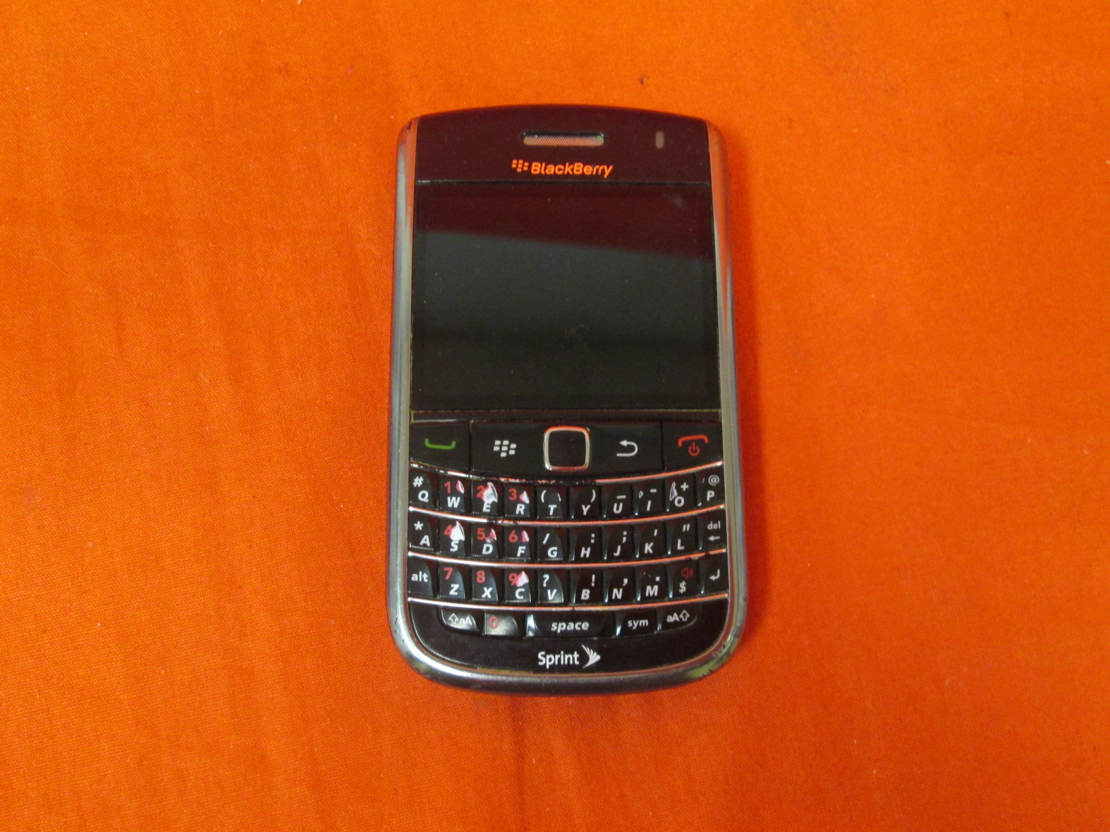 BlackBerry Bold 9900 GSM Phone Incomplete