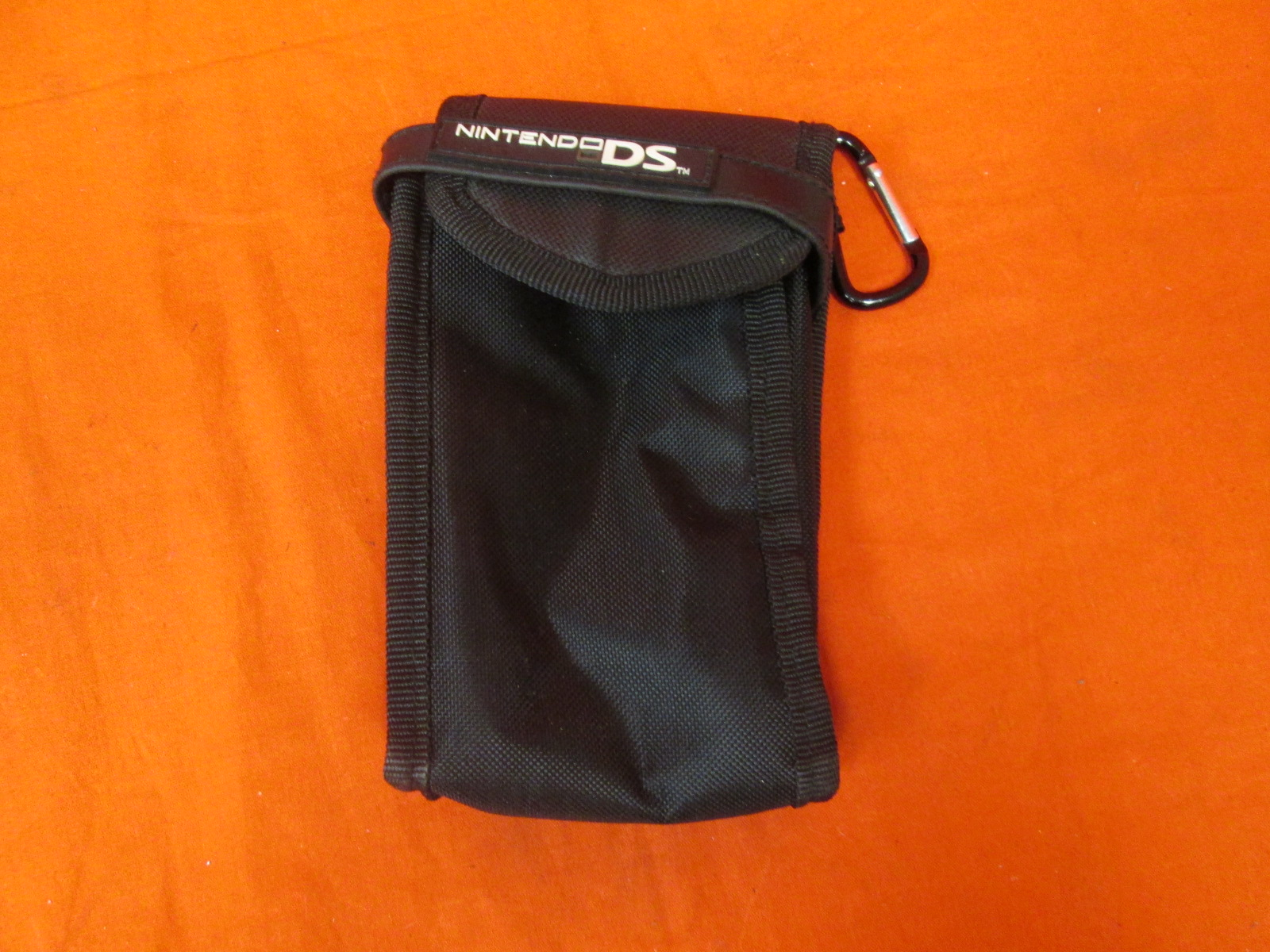 Black Travel Case For Nintendo DS Handheld Console Games And
