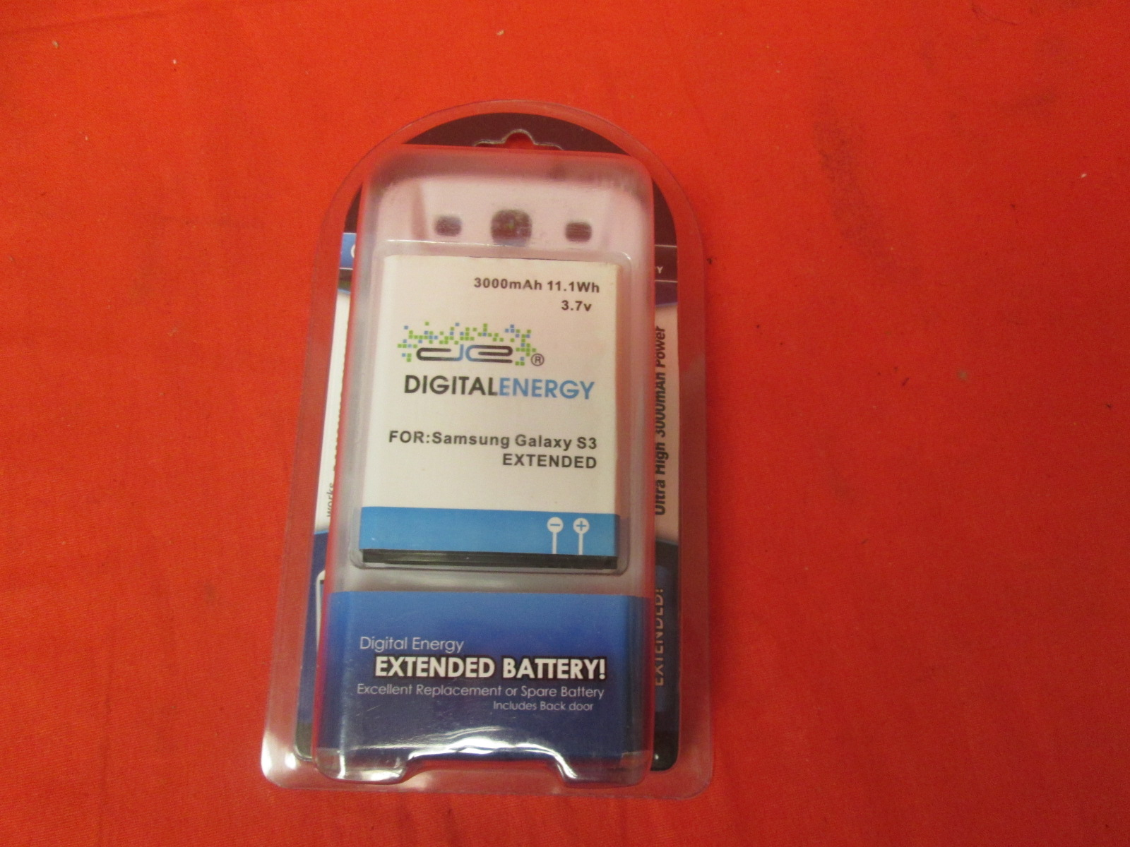 Digital Energy Samsung Galaxy S3 3000MAH Extended Battery