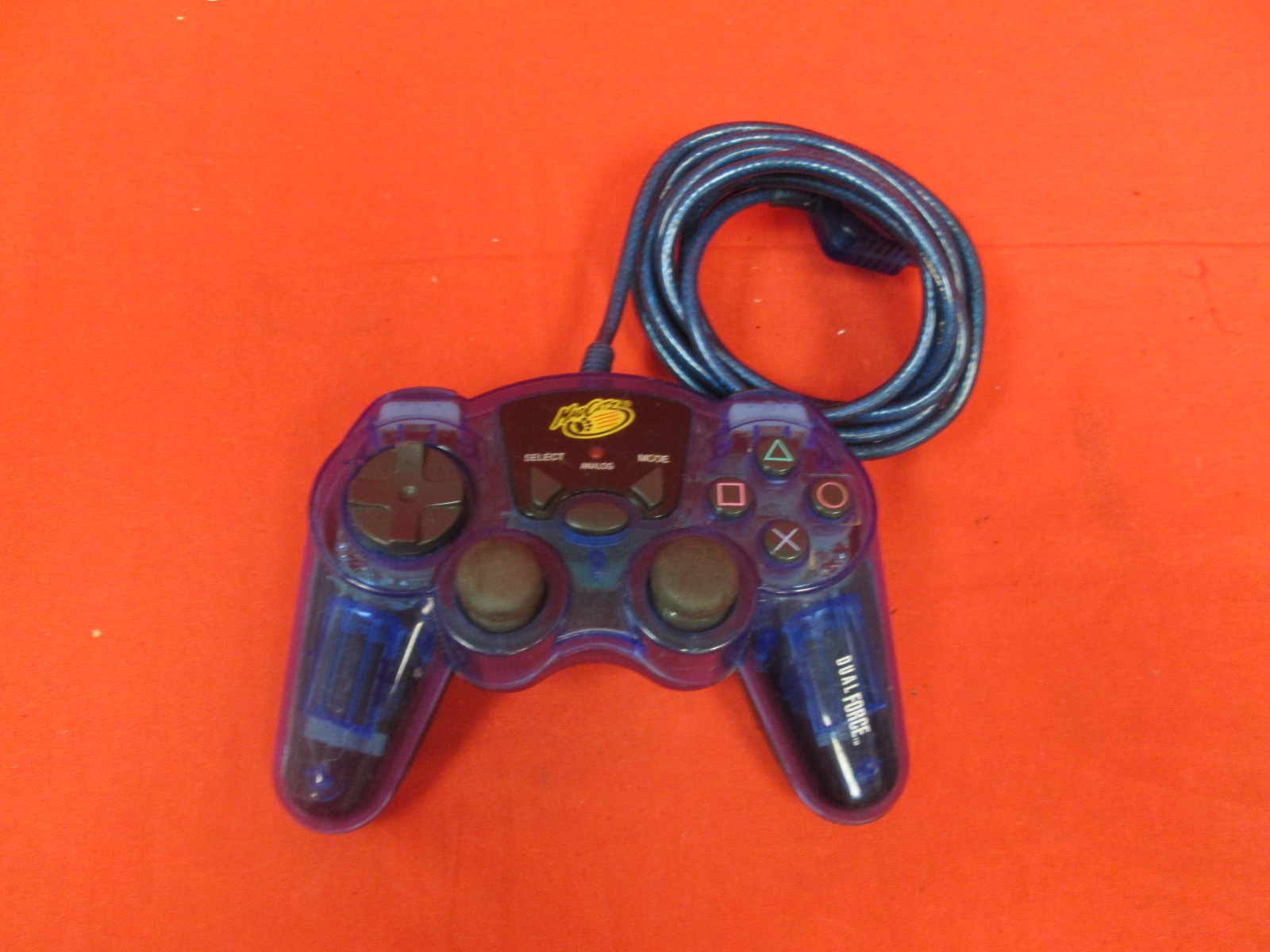 Mad Catz Dual Force Wired Analog Controller For PlayStation 2