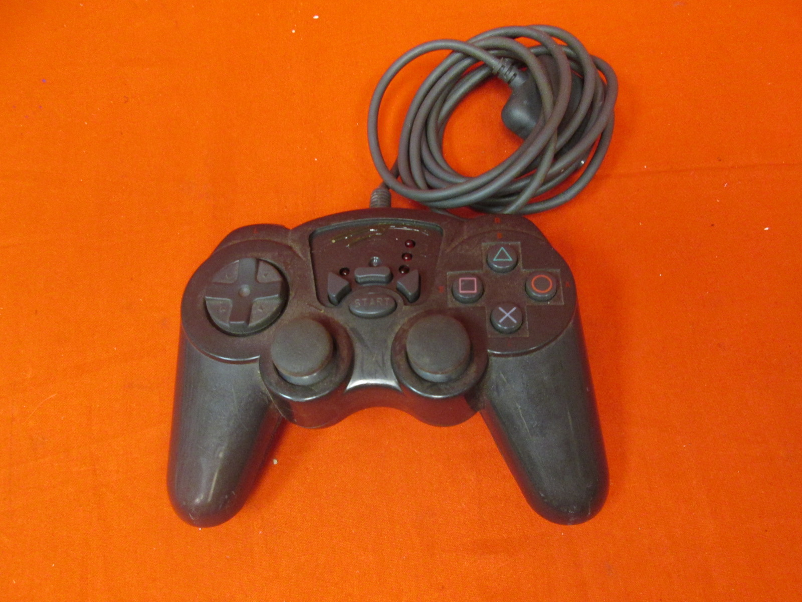 Madcatz Wired Controller Black For PlayStation 2