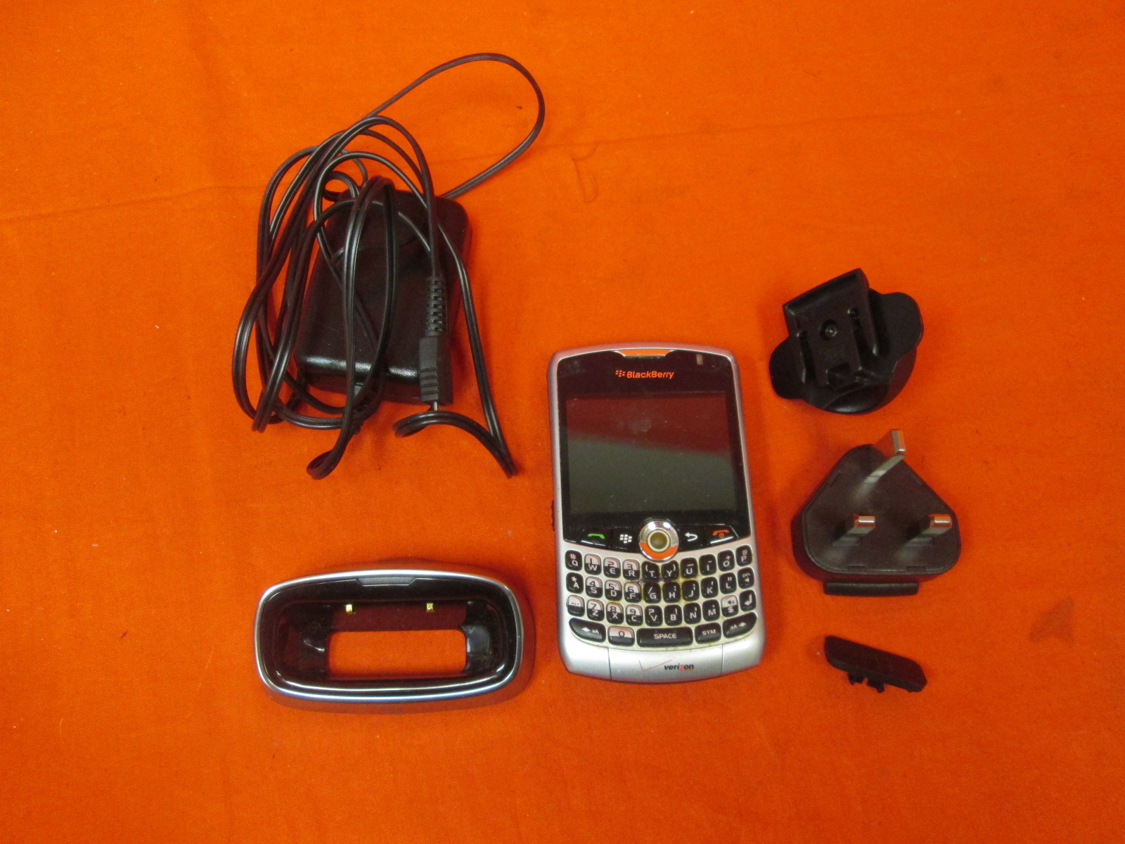 BlackBerry 8330 Verizon Silver Only Incomplete
