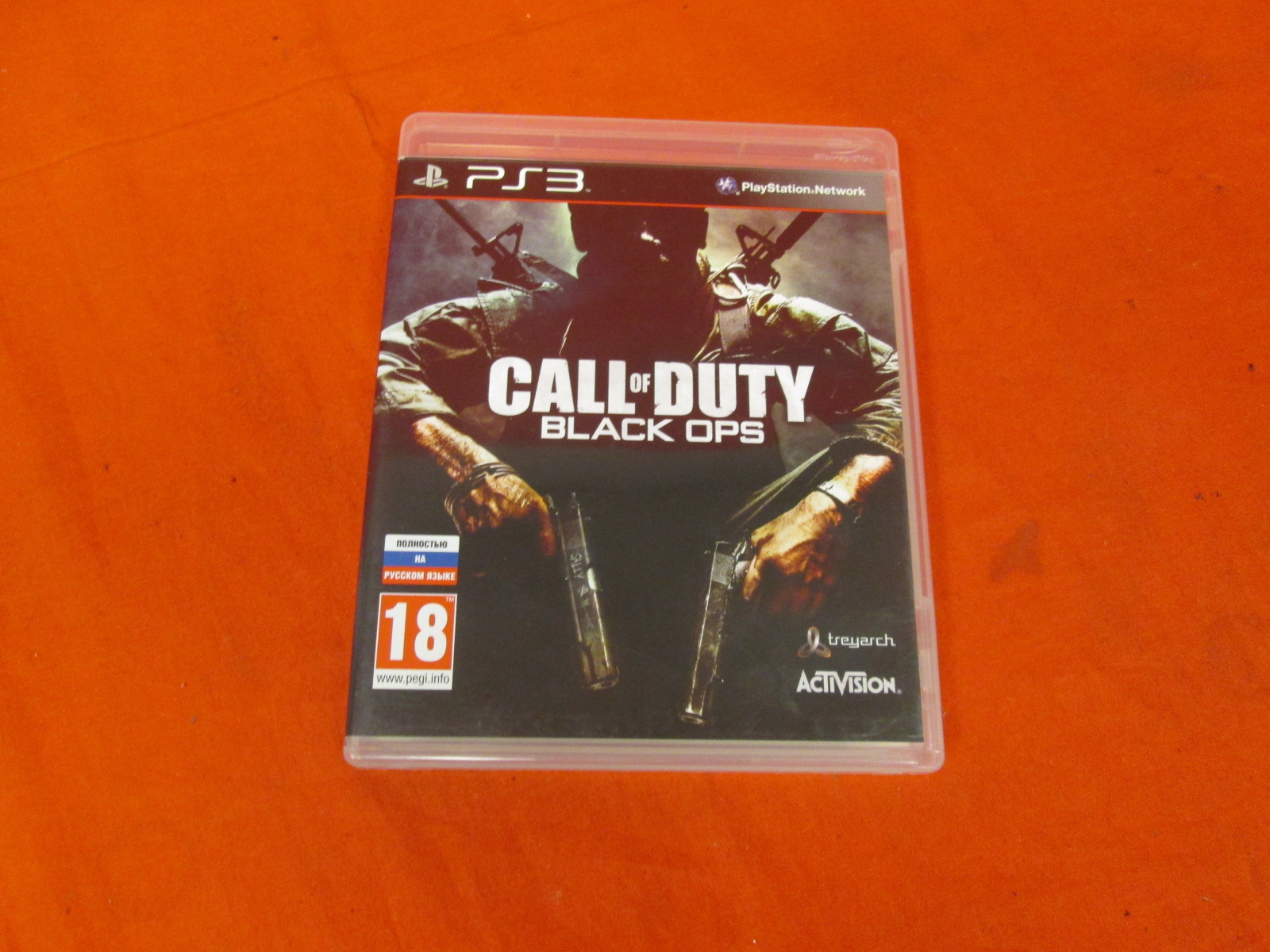 Call Of Duty: Black Ops For PlayStation 3 Russian Region 5