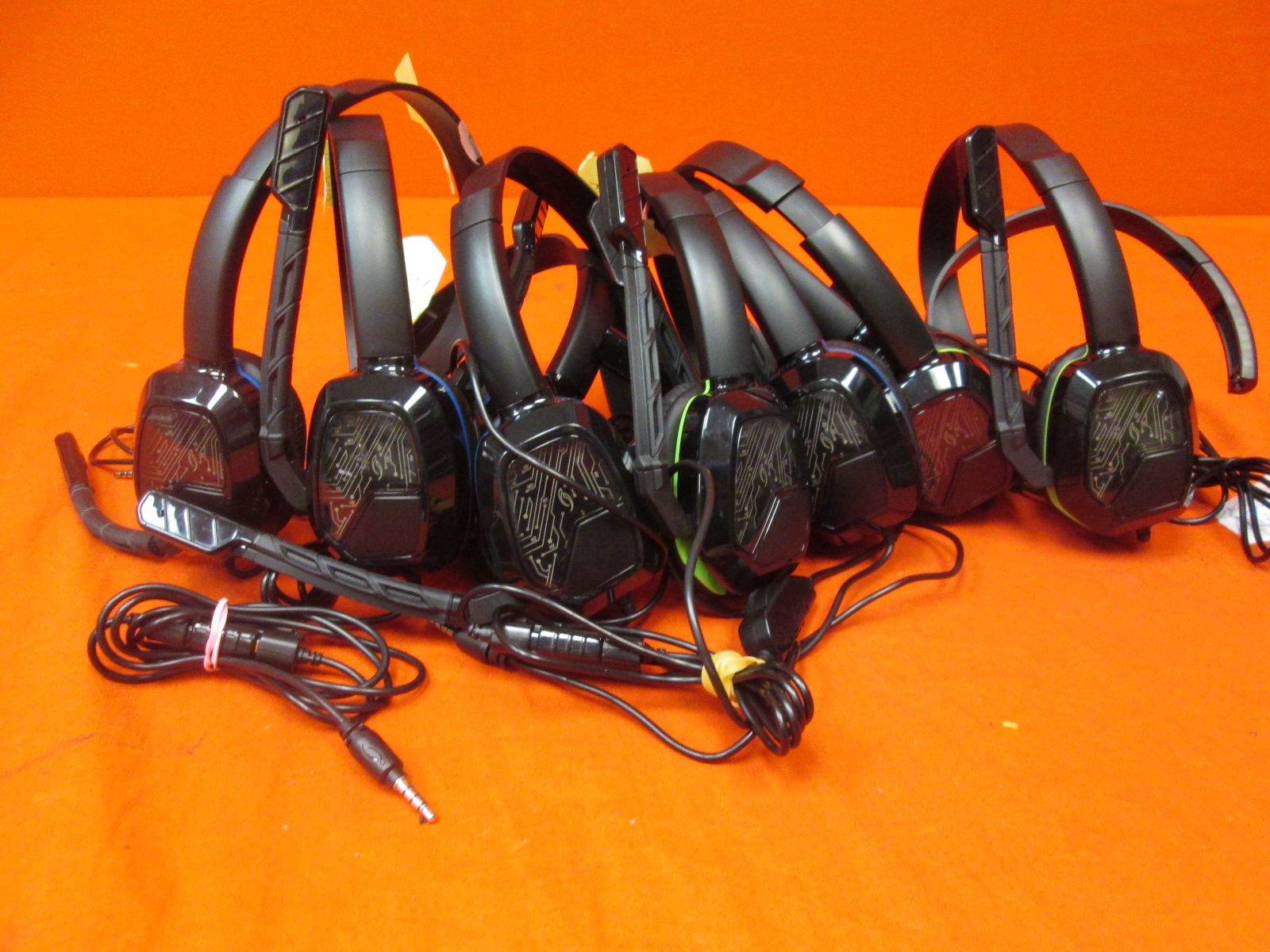 Lot Of 10 Afterglow Gaming Headsets For PlayStation 4 Broken
