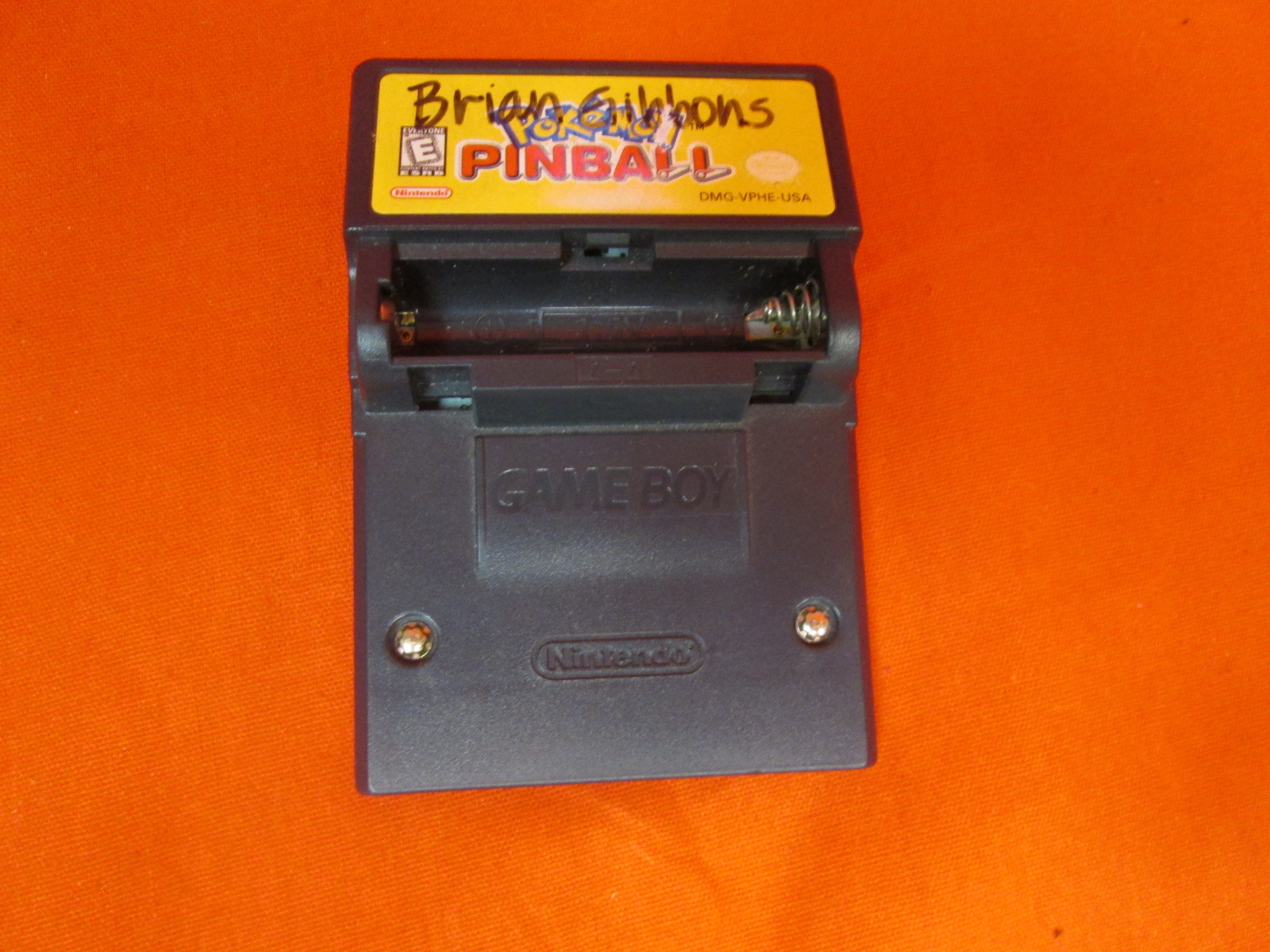 Pokemon Pinball For Color On Gameboy