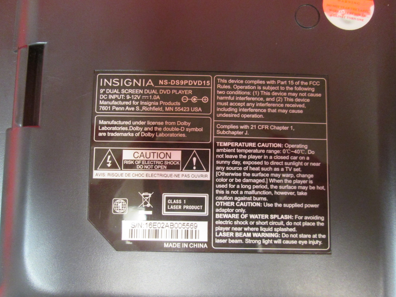 insignia 24 inch tv manual