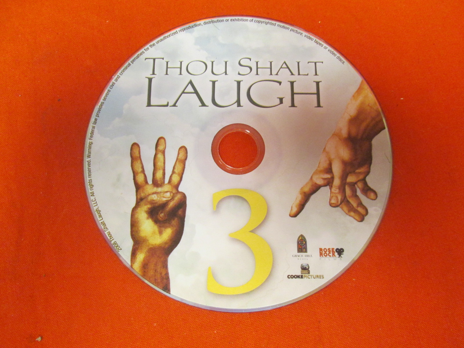 Lot Of 14 Thou Shalt Laugh 3 Hosted By Sinbad On DVD