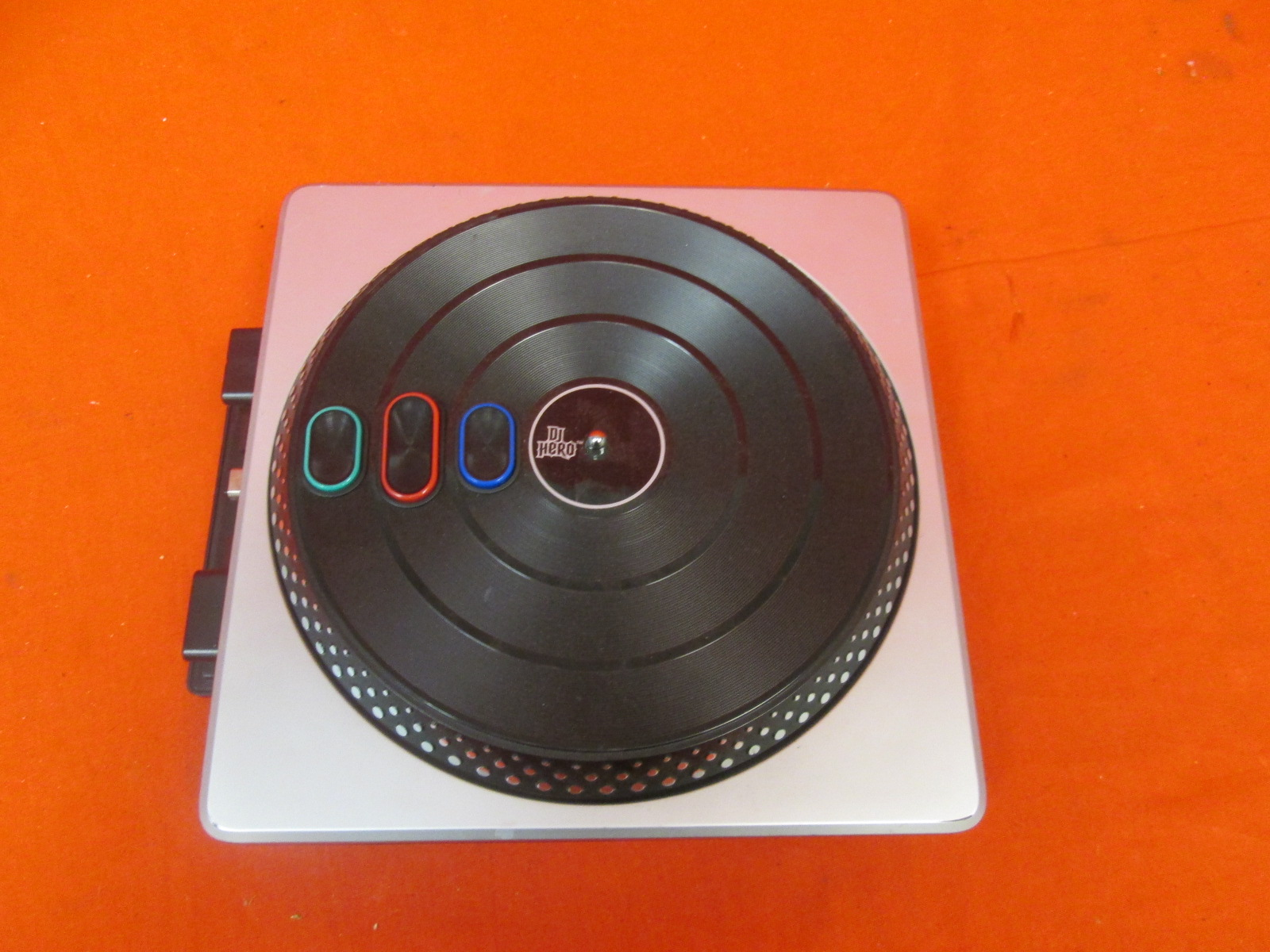 DJ Hero 2 Turntable Only Incomplete For PlayStation 3