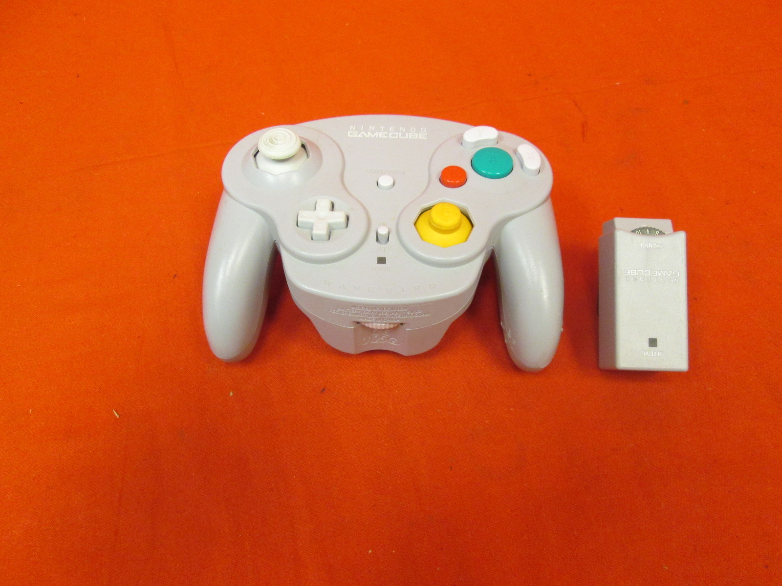 Wavebird Wireless Controller Grey Silver Compatible With Wii For