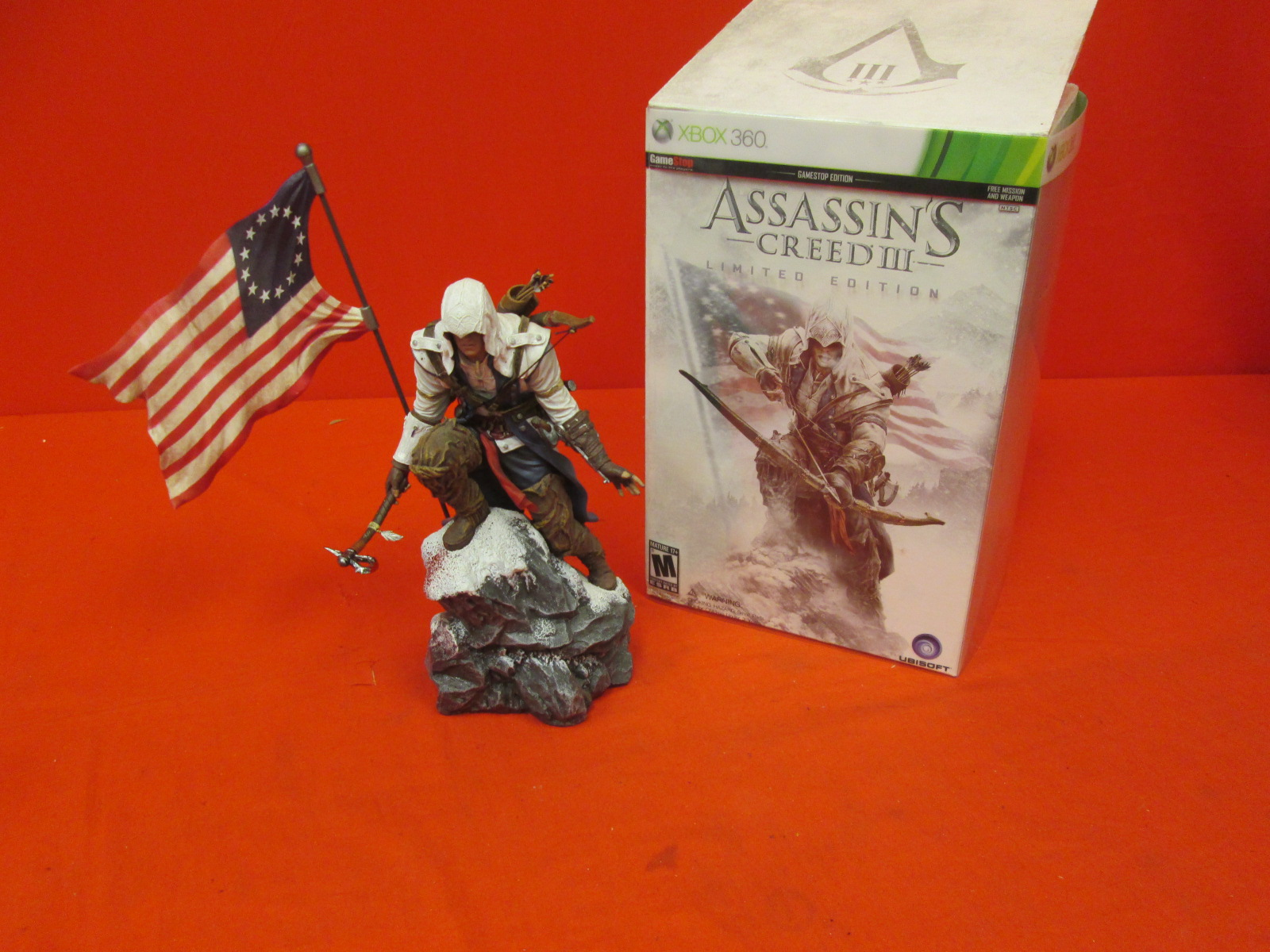 Assassin's Creed III Limited Edition Figurine Only.