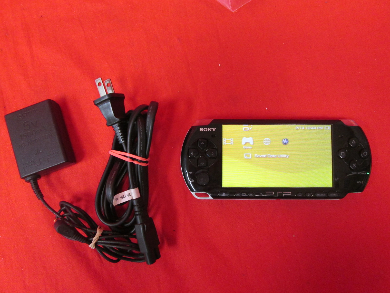 PlayStation Portable 3000 Portable Handheld Console Bundle With Little