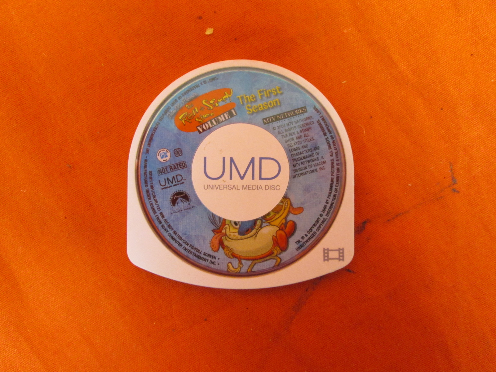 Ren & Stimpy The First And Second Seasons Vol 1 UMD For PSP