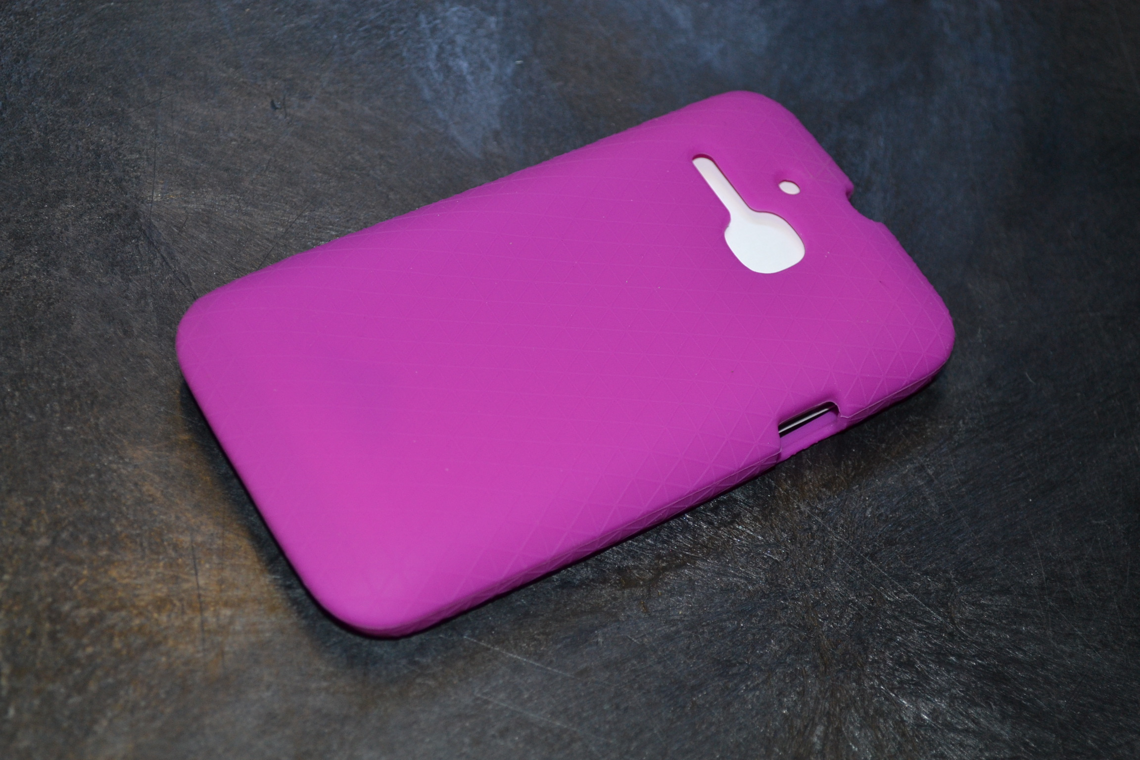 Gel Skin For Alcatel Onetouch Evolve Purple Case