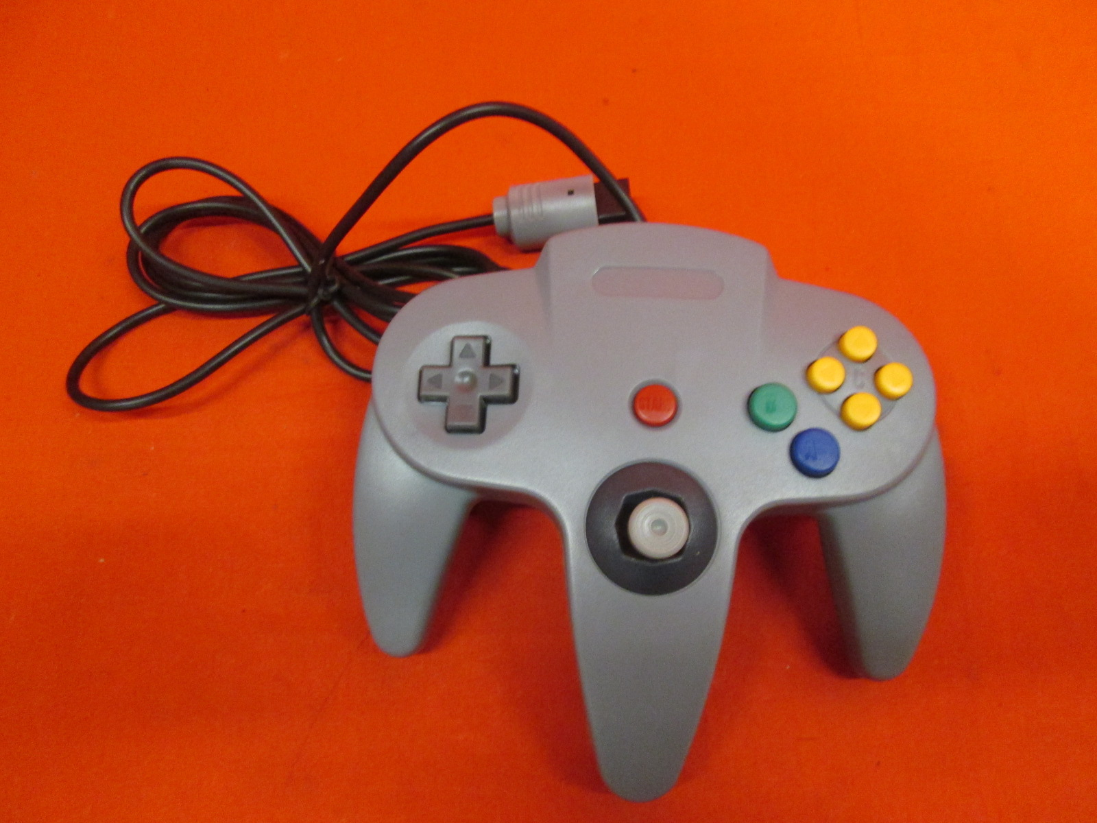 Classic Wired Controller Joystick For Nintendo 64 Game System Gray Gamepad 7Z | eBay