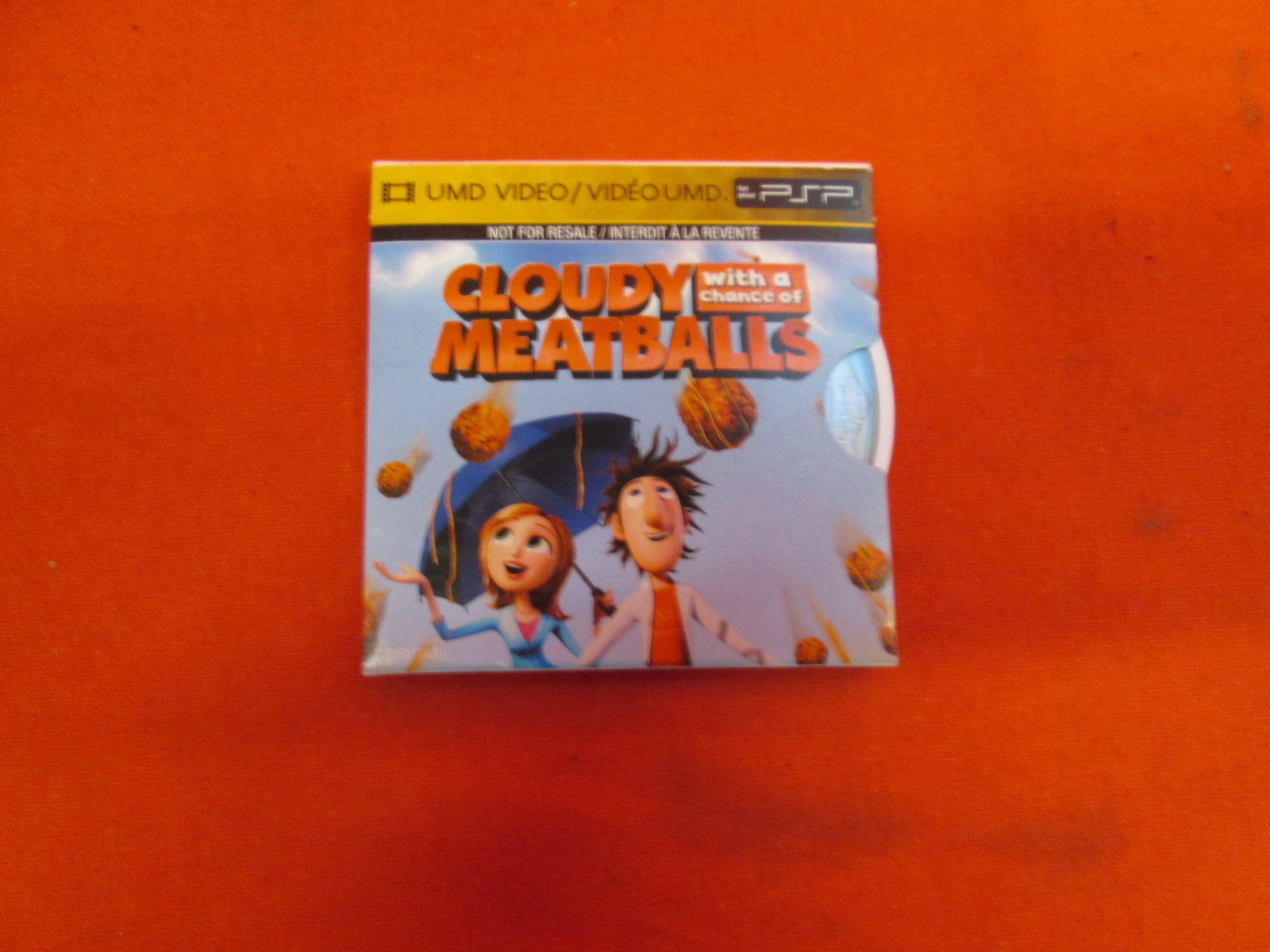 Image 0 of Cloudy With A Chance Of Meatballs UMD For PSP
