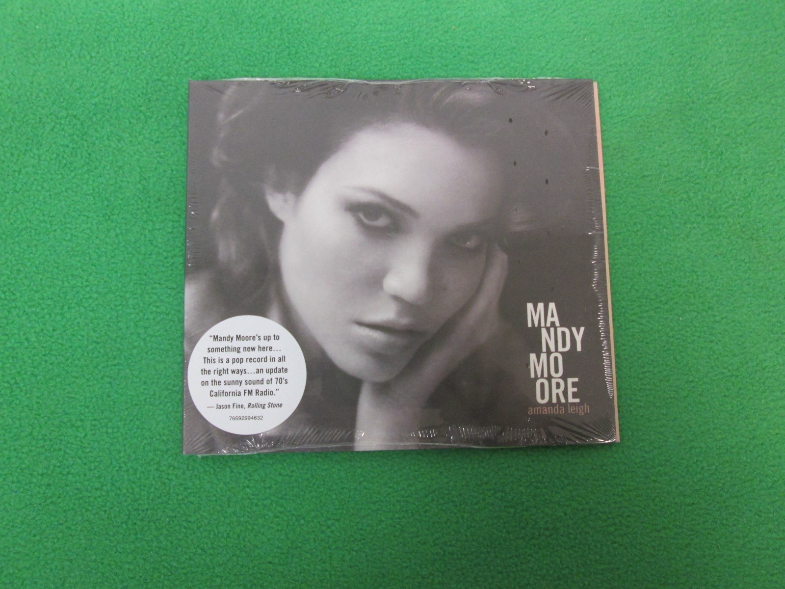 Amanda Leigh Dig By Mandy Moore On Audio CD