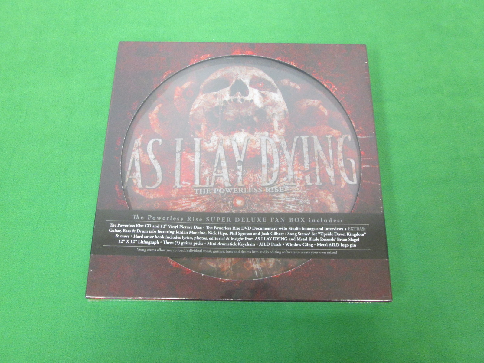 Powerless Rise By As I Lay Dying On Audio CD