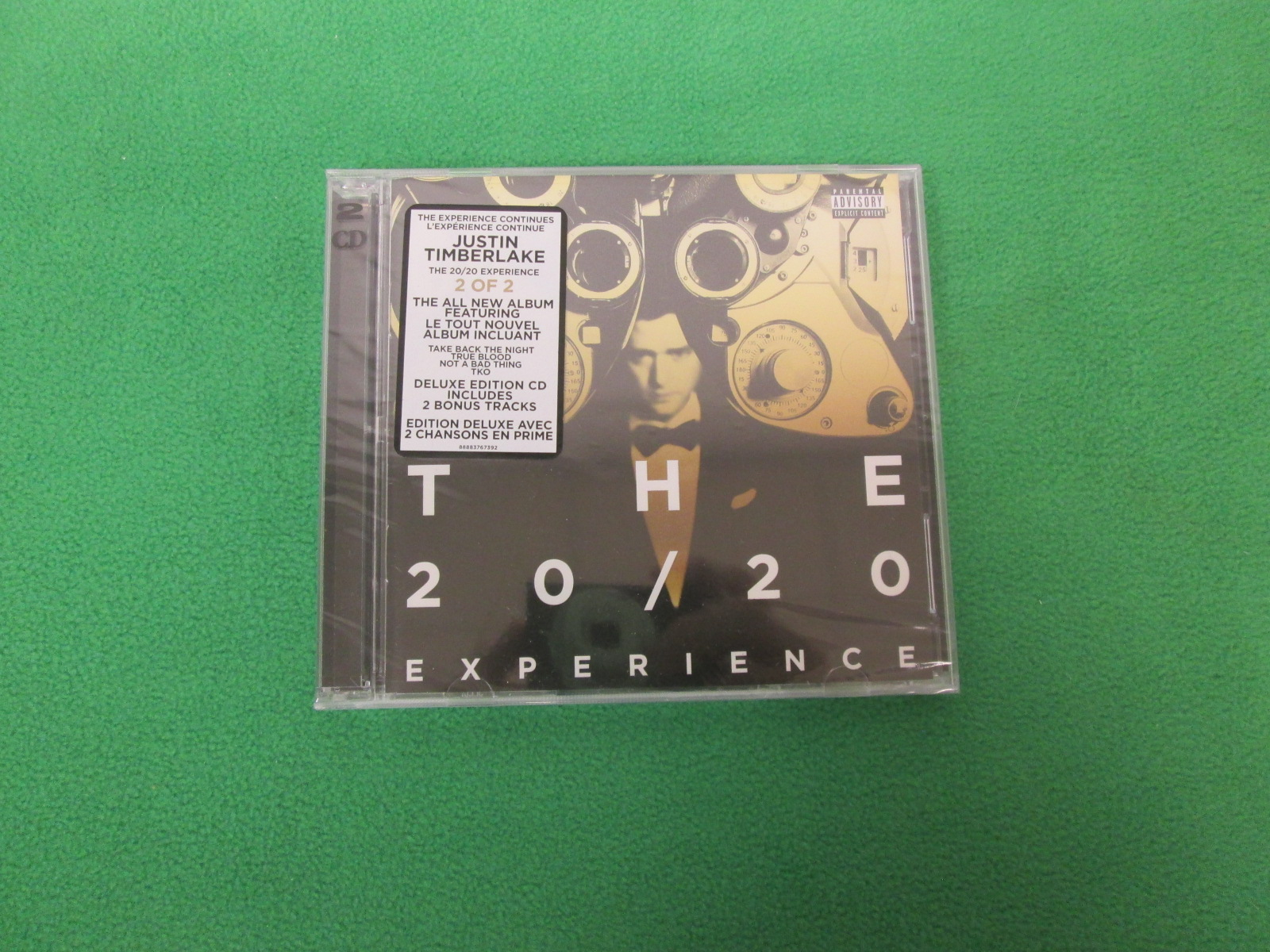 The 20 / 20 Experience 2 Of 2 By Timberlake Justin On Audio CD