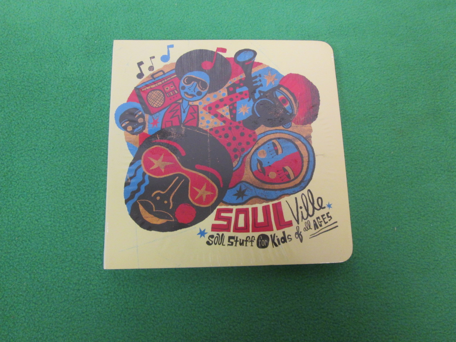 Soulville: Soul Stuff For Kids Of All Ages On Audio CD