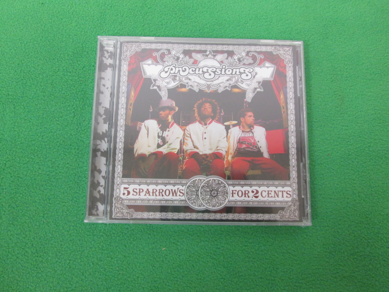 5 Sparrows For 2 Cents By The Procussions On Audio CD