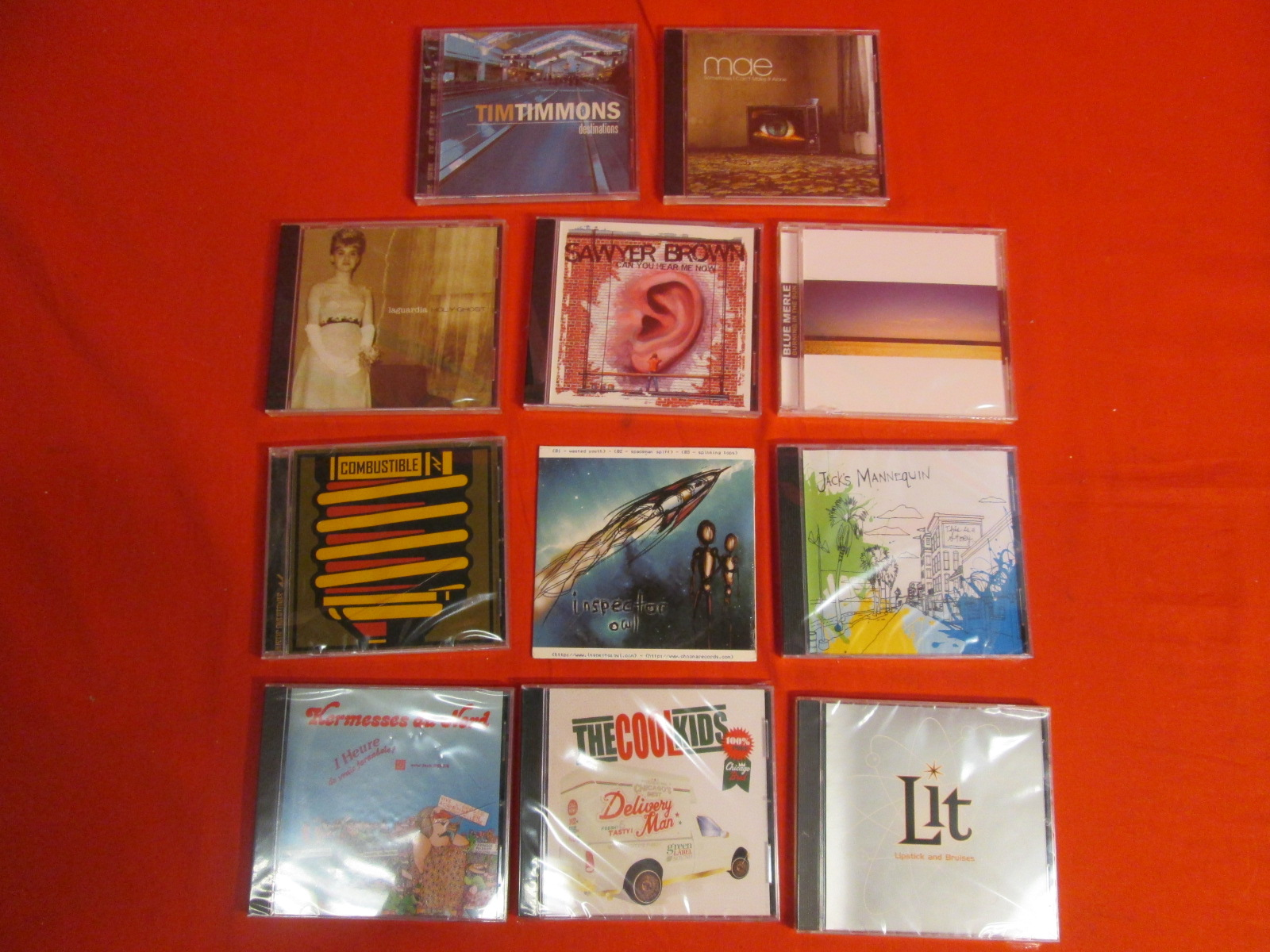 Lot Of 10 Audio Music CDs On Audio CD