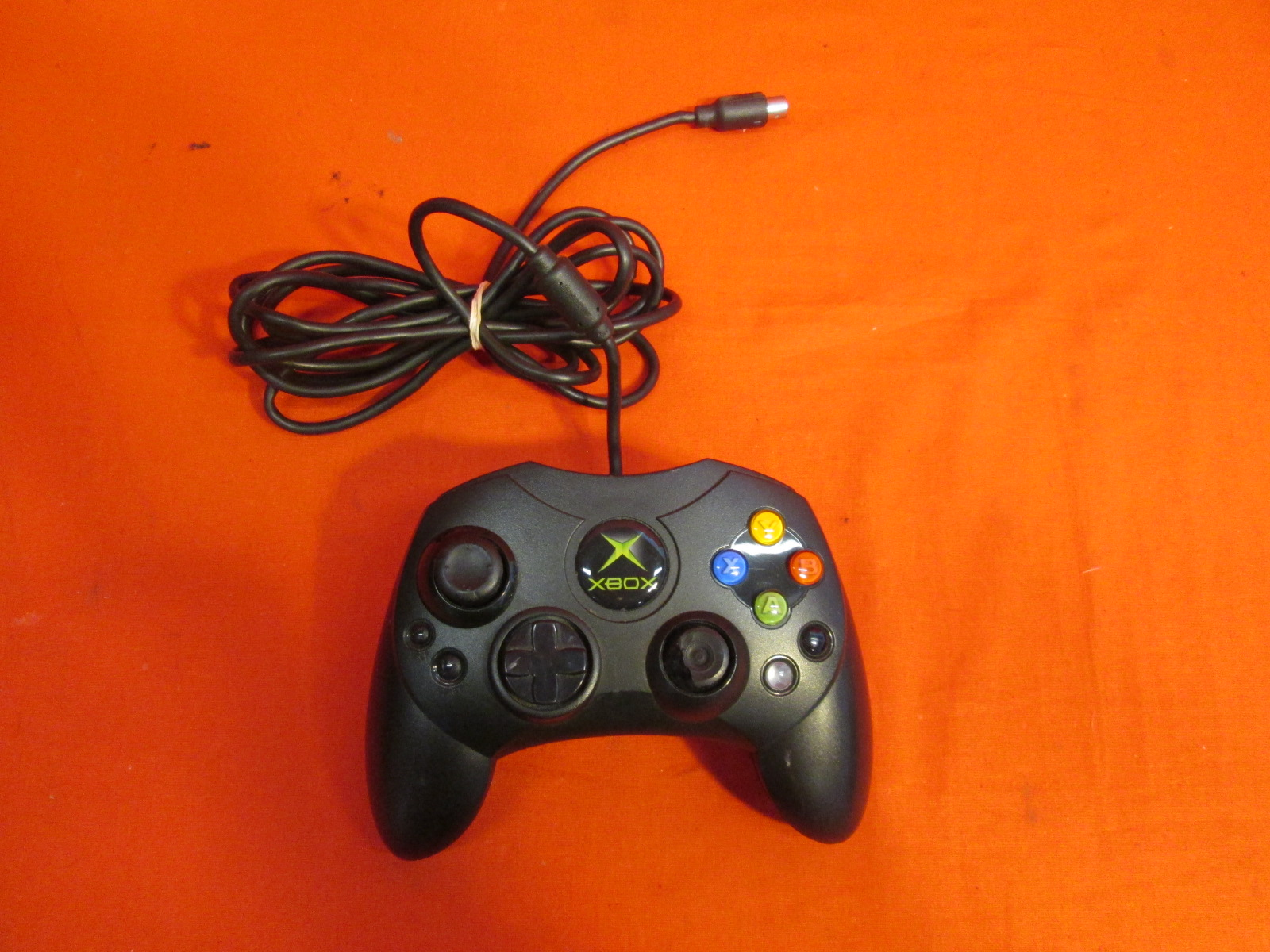 Old Xbox Controller Games : Xbox original wired game pad controller black