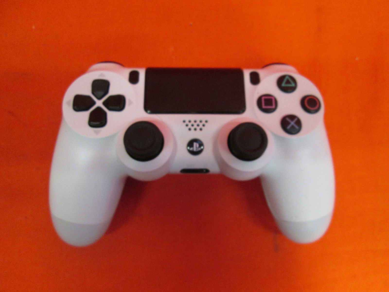 Broken Sony Dualshock 4 Wireless Controller Glacier White