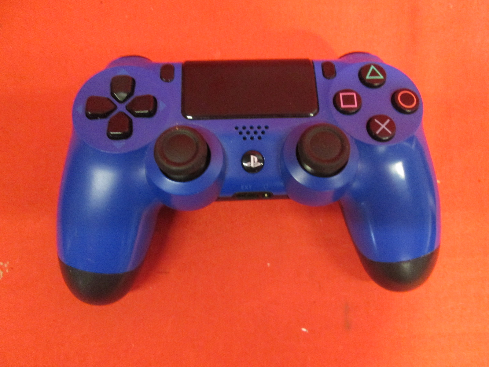 PlayStation 4 Dualshock 4 Wireless Controller Wave Blue Broken