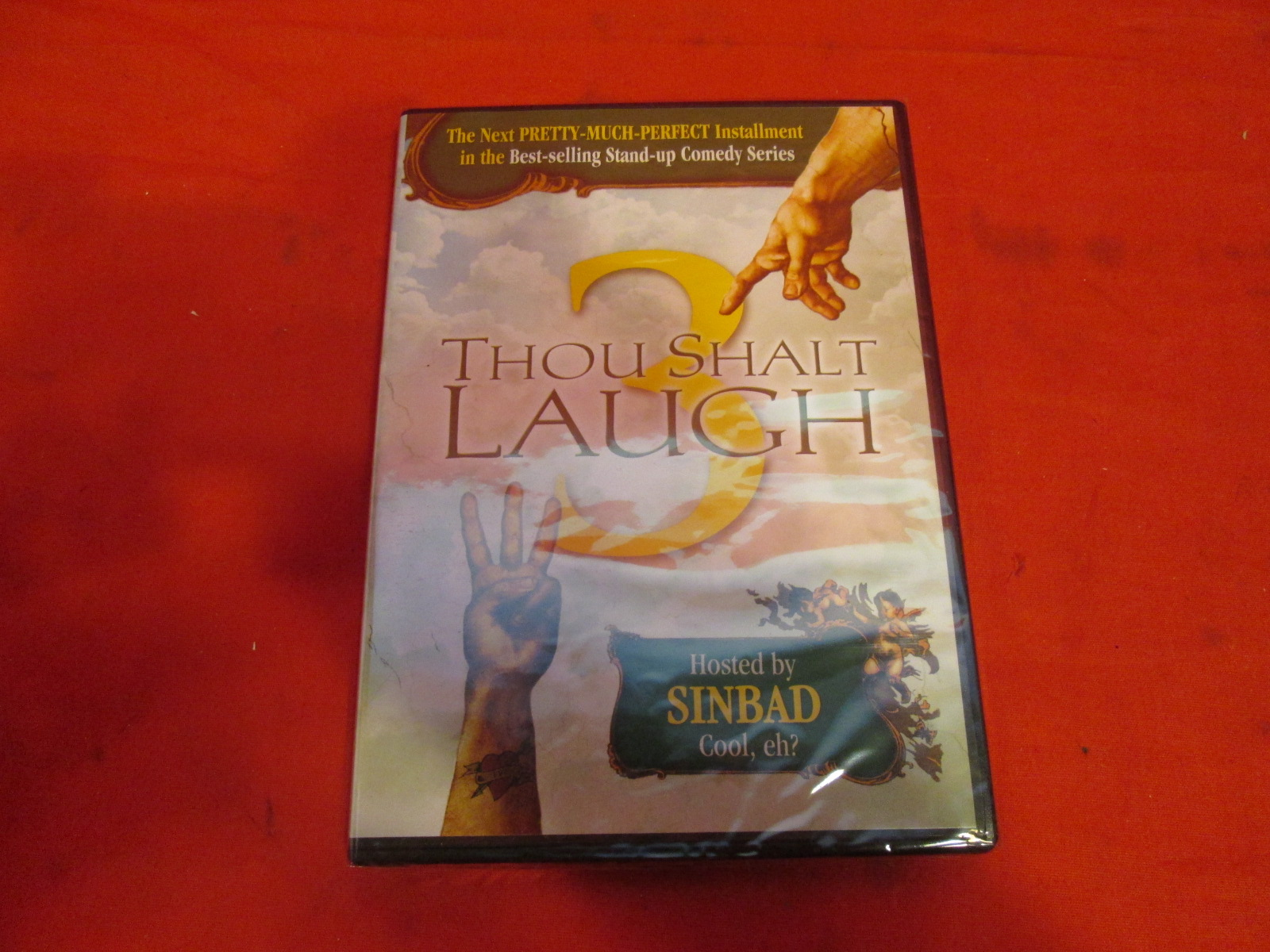 Thou Shalt Laugh 3 Hosted By Sinbad On DVD