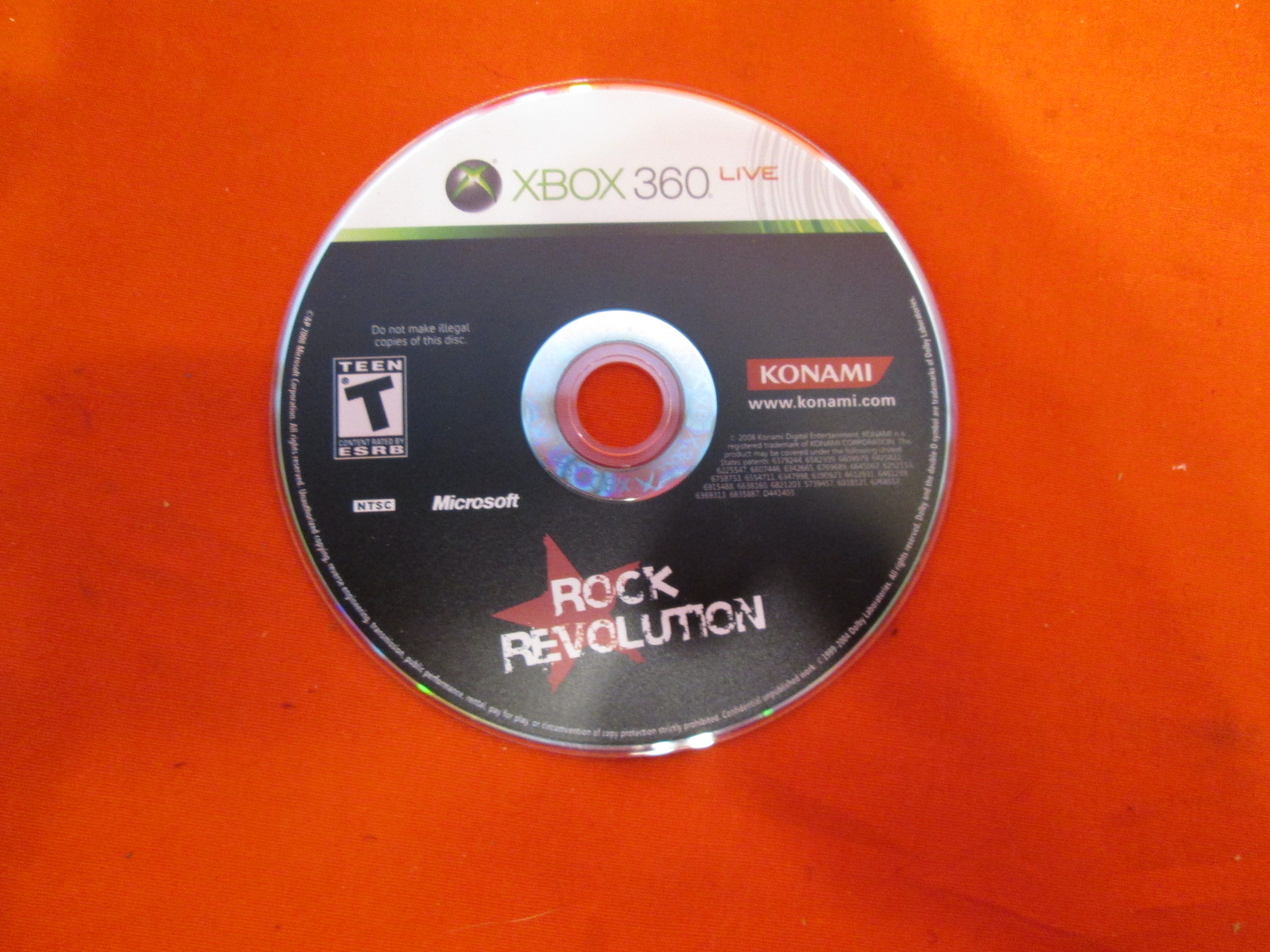 Konami Rock Revolution Xbox 360 Musical Games