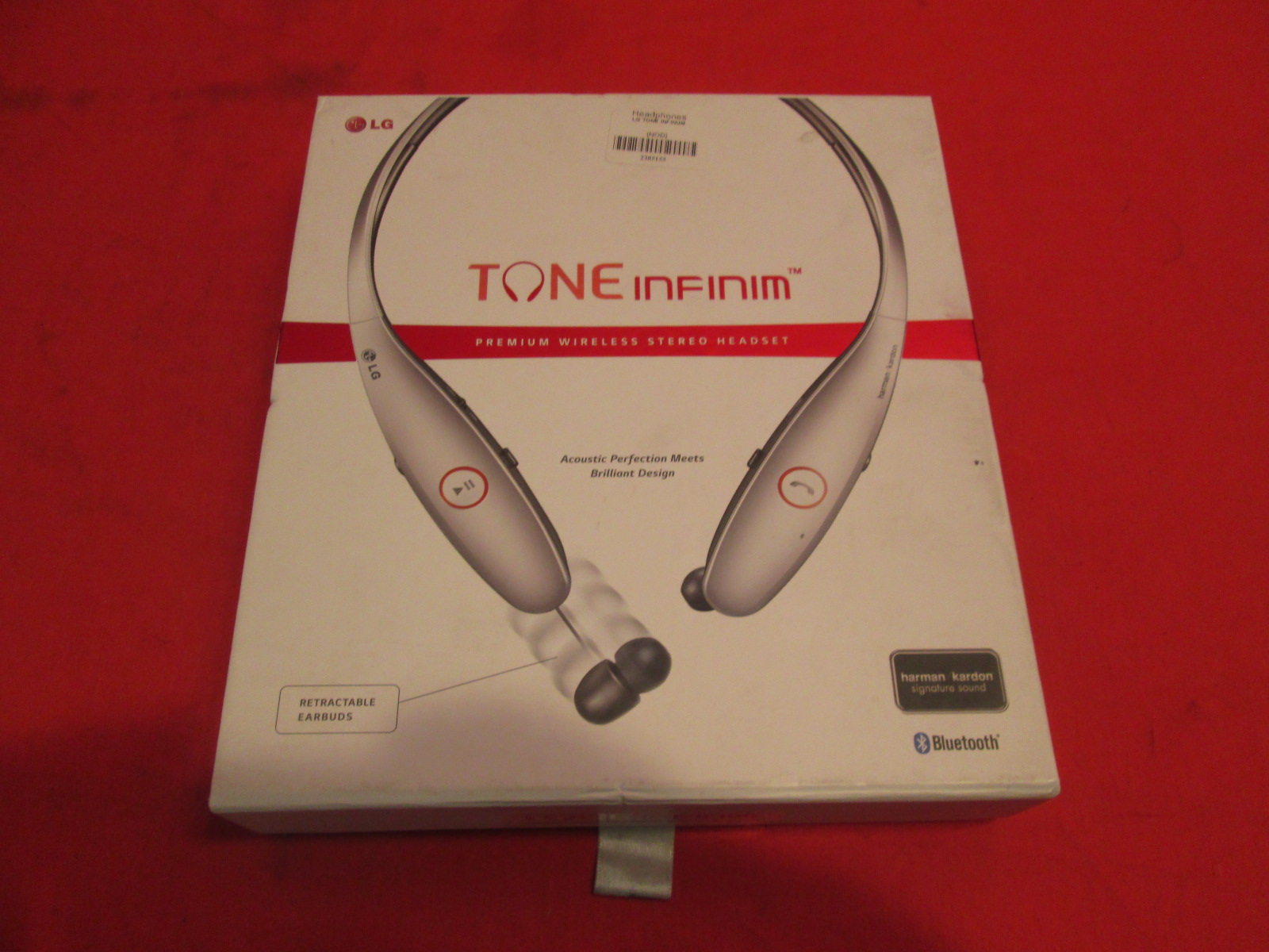 lg electronics tone infinim bluetooth stereo headset. Black Bedroom Furniture Sets. Home Design Ideas
