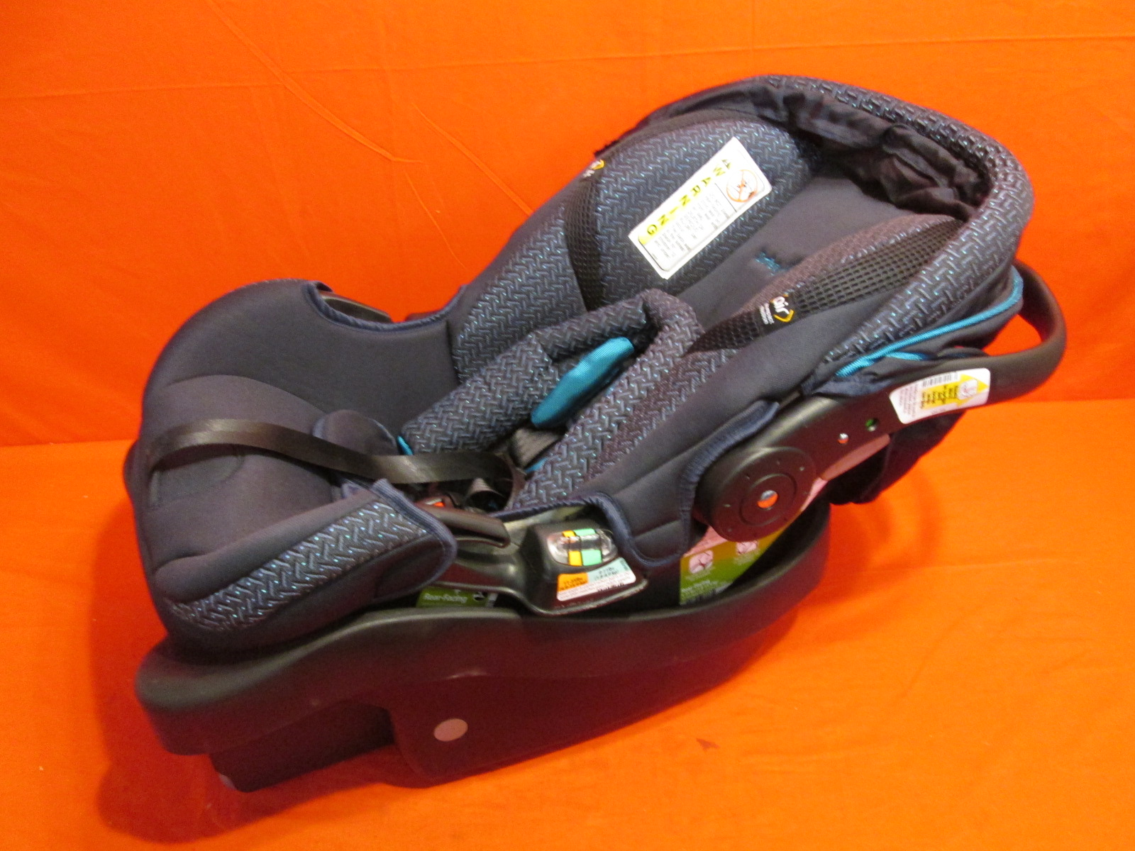 safety 1st onboard 35 air car seat decatur small fabric tear blue. Black Bedroom Furniture Sets. Home Design Ideas