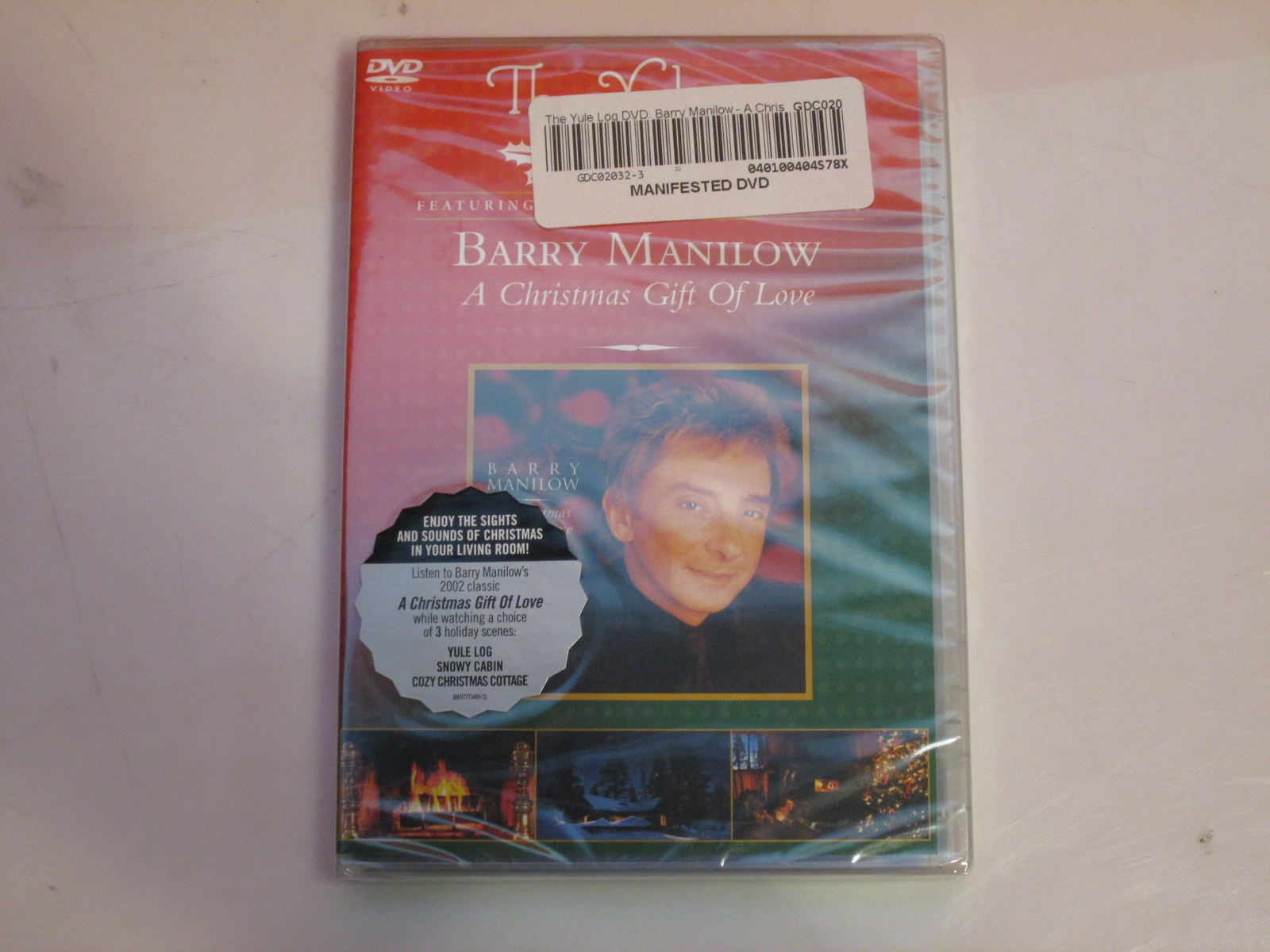 The Yule Log Barry Manilowe A Christmas Gift Of Love On DVD