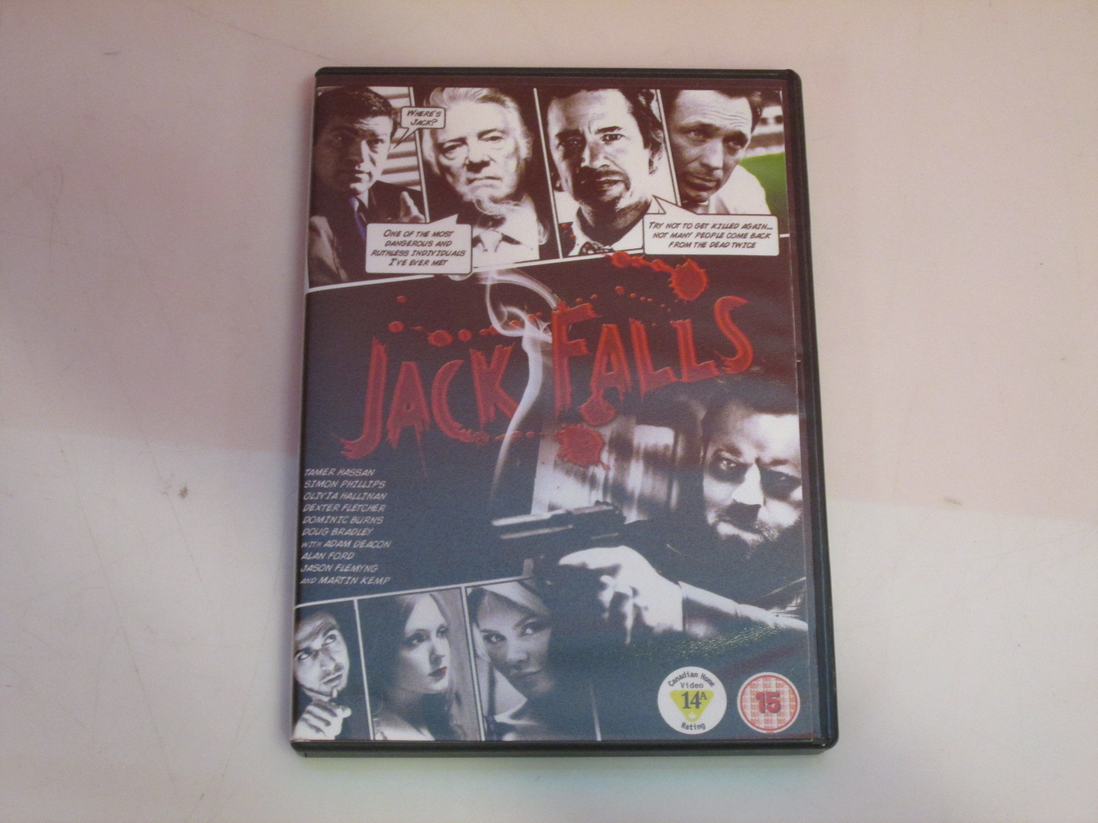 Jack Falls Import Anglais On DVD