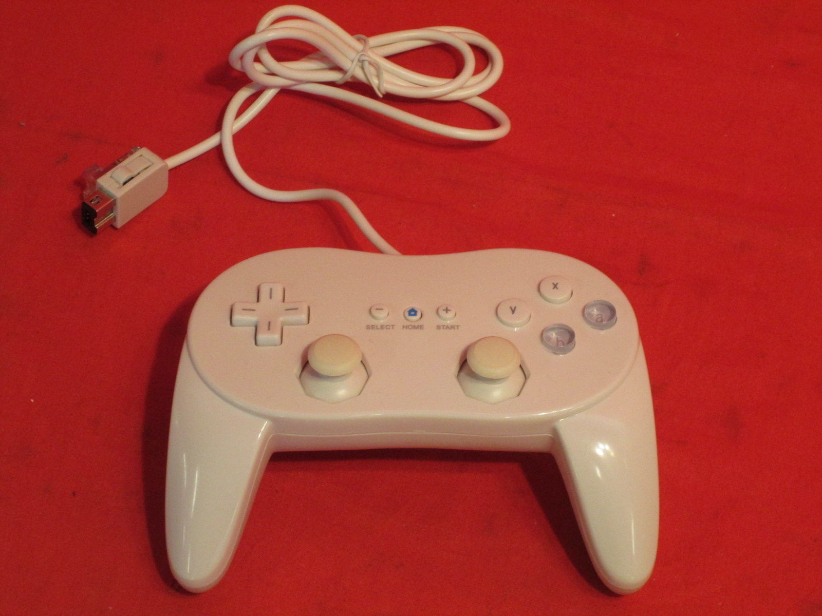 Classic Pro Controller For Wii U White For Wii Gamepad