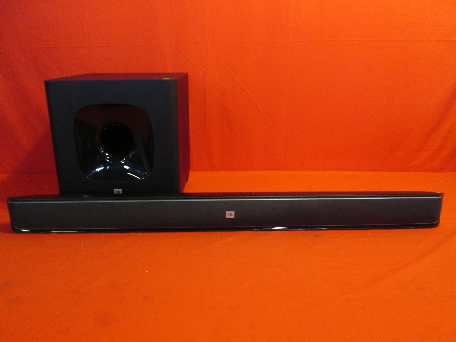 jbl cinema sb350 home cinema 2 1 soundbar wireless subwoofer. Black Bedroom Furniture Sets. Home Design Ideas