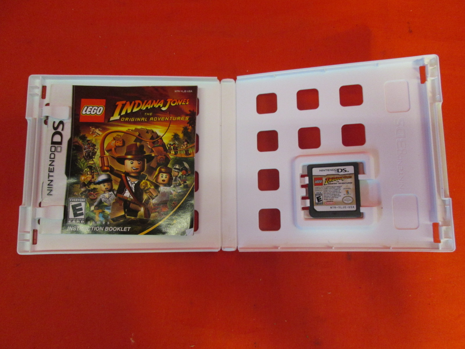 Lego Indiana Jones: The Original Adventures For DS French Version